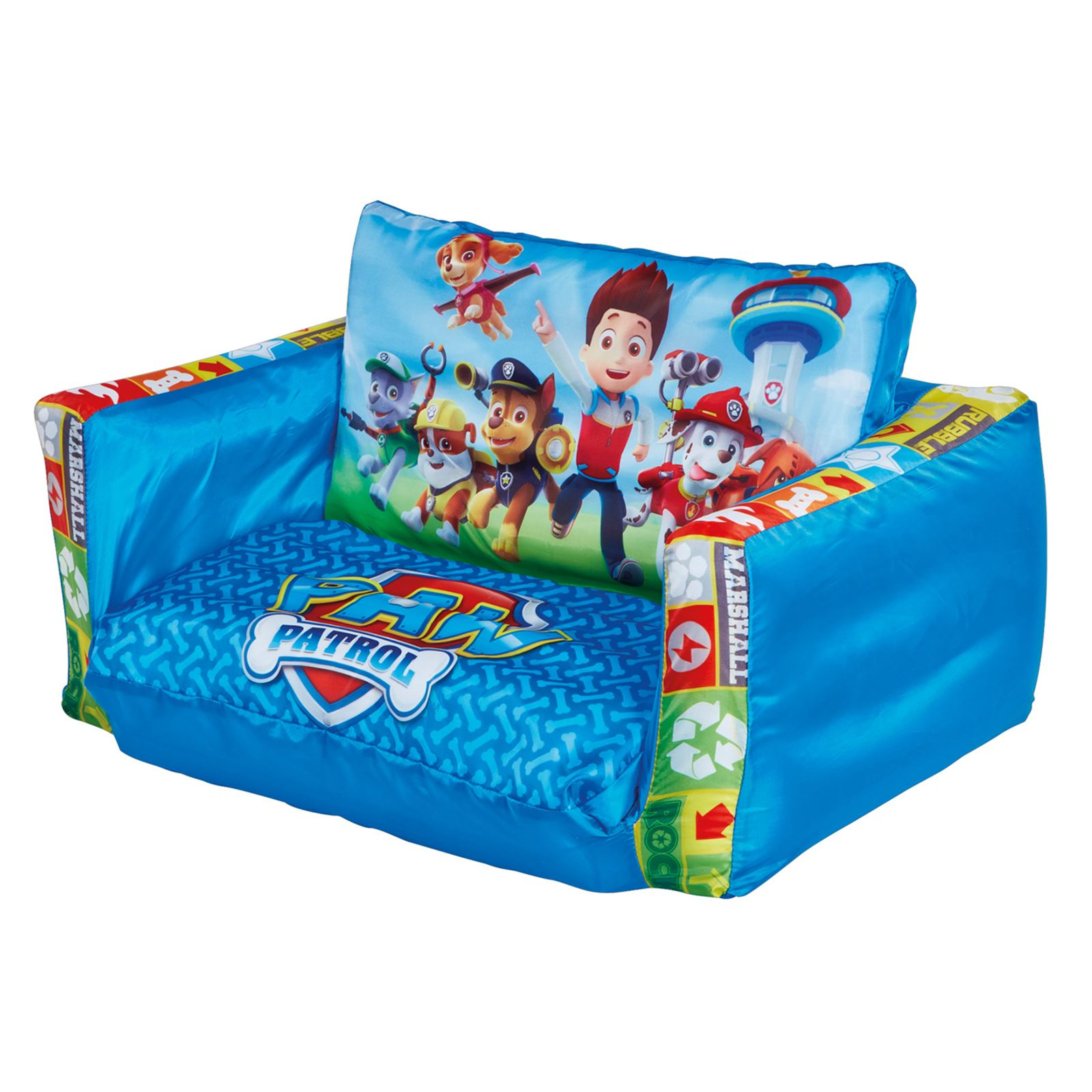 Inflatable furniture for kids - Disney Princess Inflatable Flip Out Mini Sofa And Lounger 2in1 Kids Toddlers