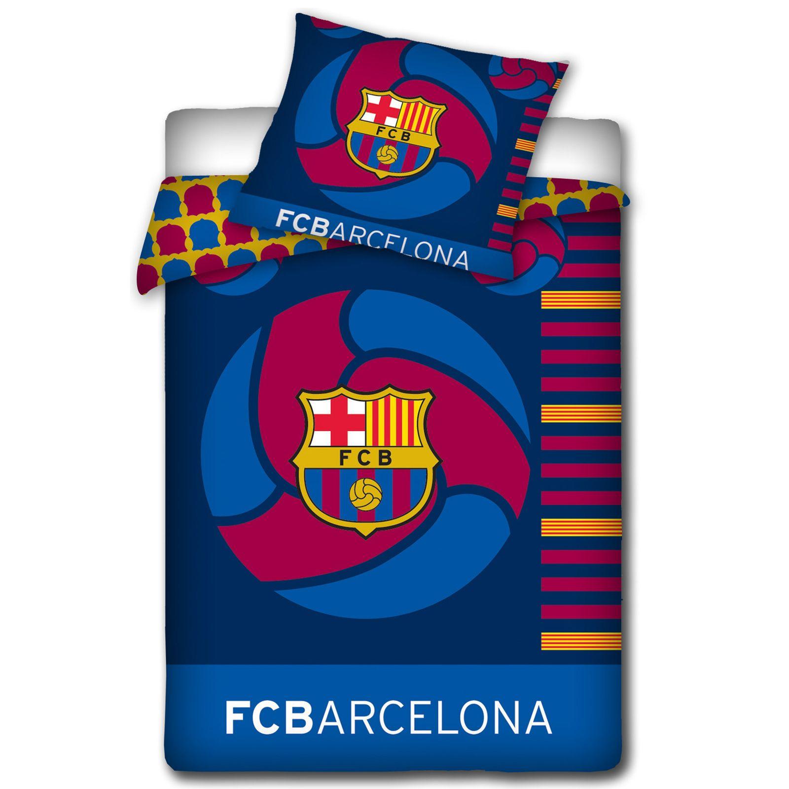 OFFICIAL FC BARCELONA DUVET COVER SETS BEDDING BEDROOM FOOTBALL NEW. OFFICIAL FC BARCELONA DUVET COVER SETS BEDDING BEDROOM FOOTBALL