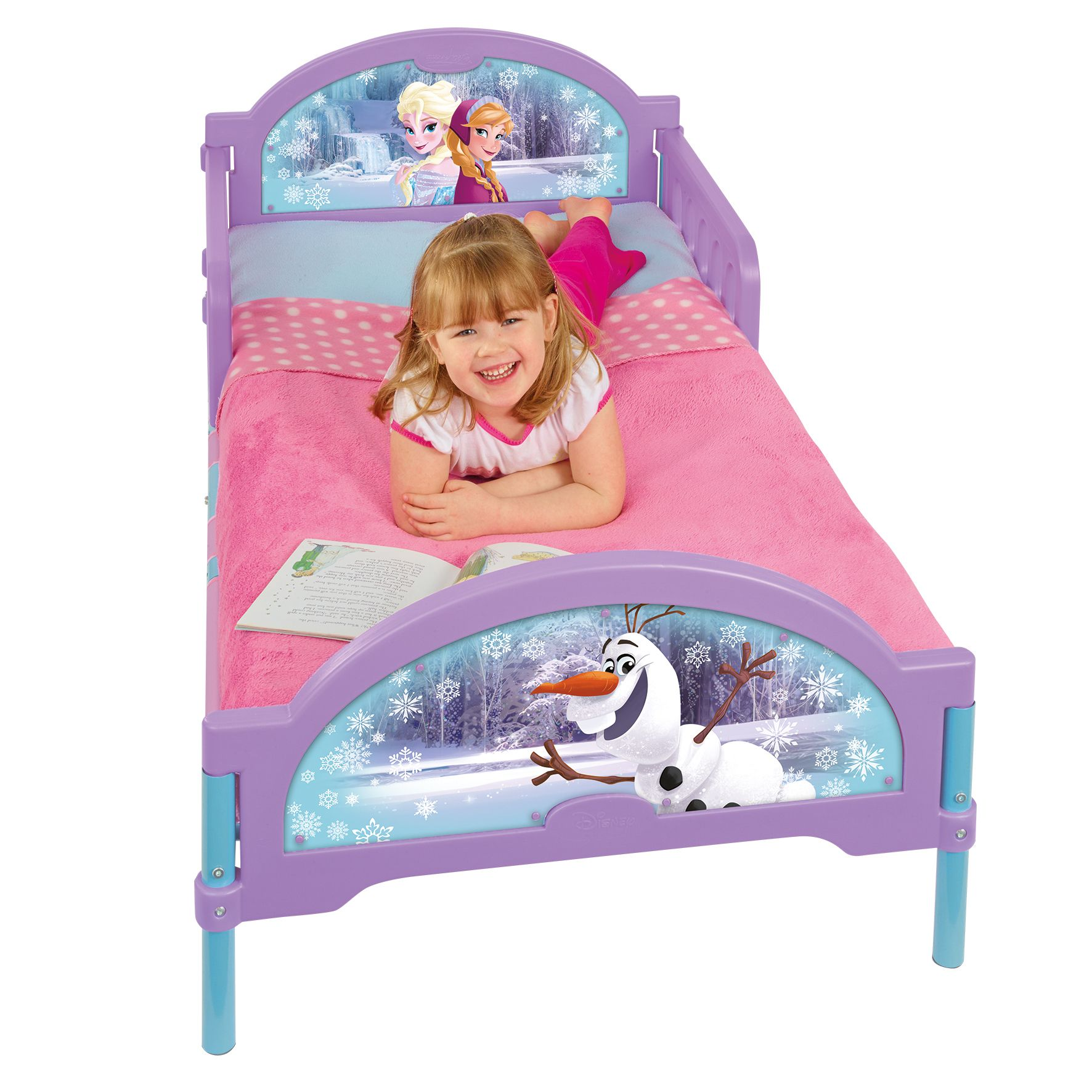 CosyTime Toddler Bed Mattress Options Available Frozen Minnie