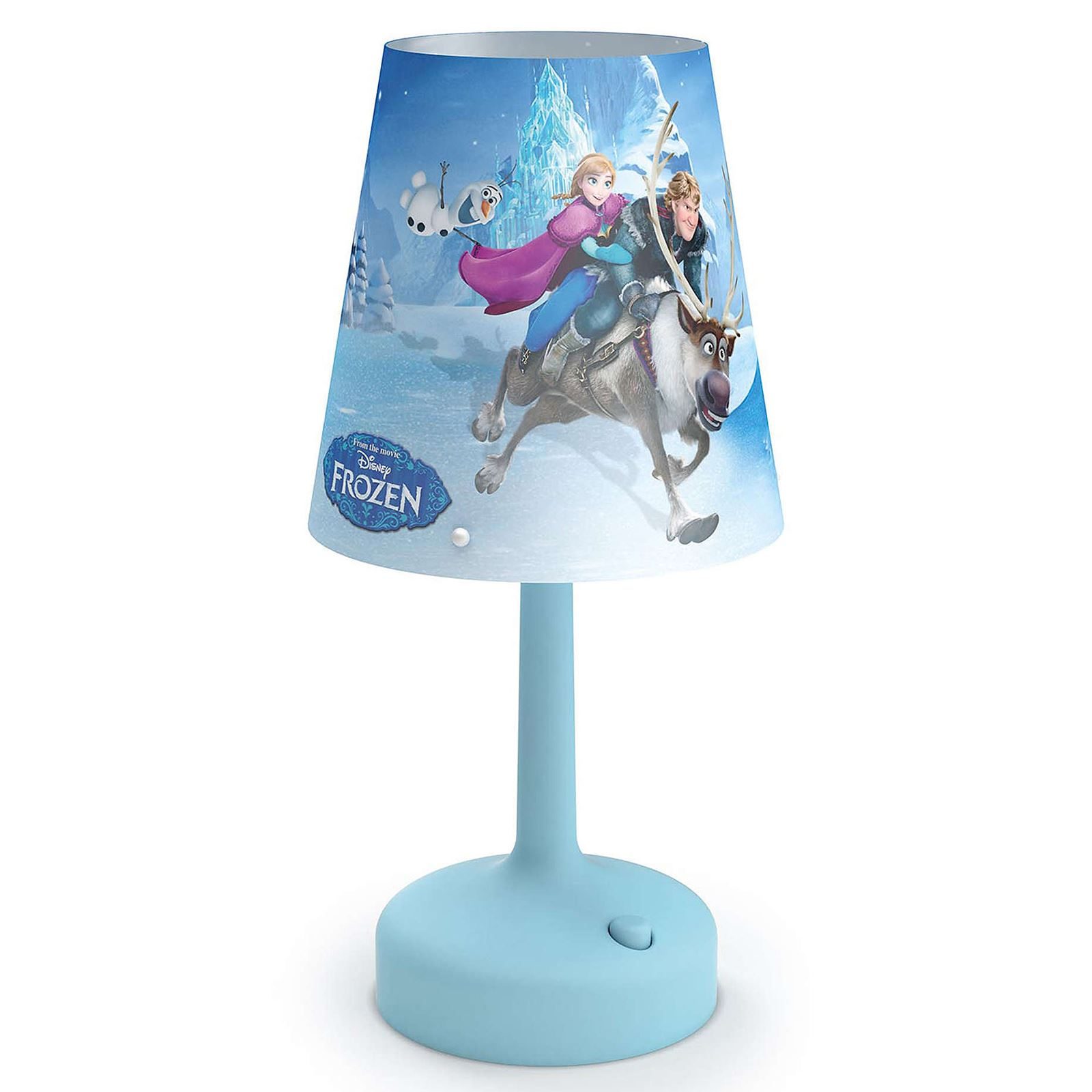 Bedroom Lamps On Ebay: DISNEY FROZEN PORTABLE TABLE LAMP KIDS BEDROOM LIGHTING