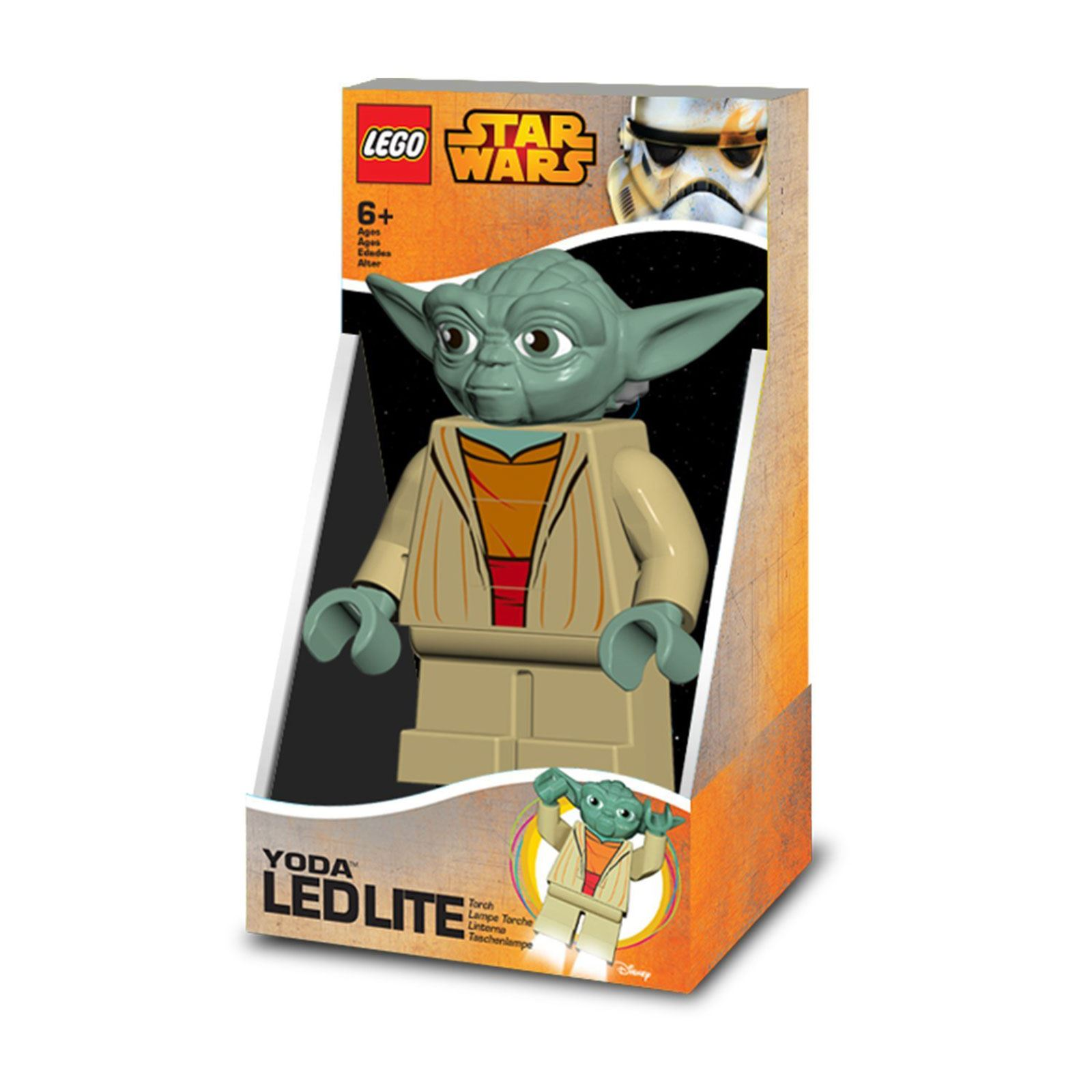 lego star wars yoda led lite torch kids lighting 100 official