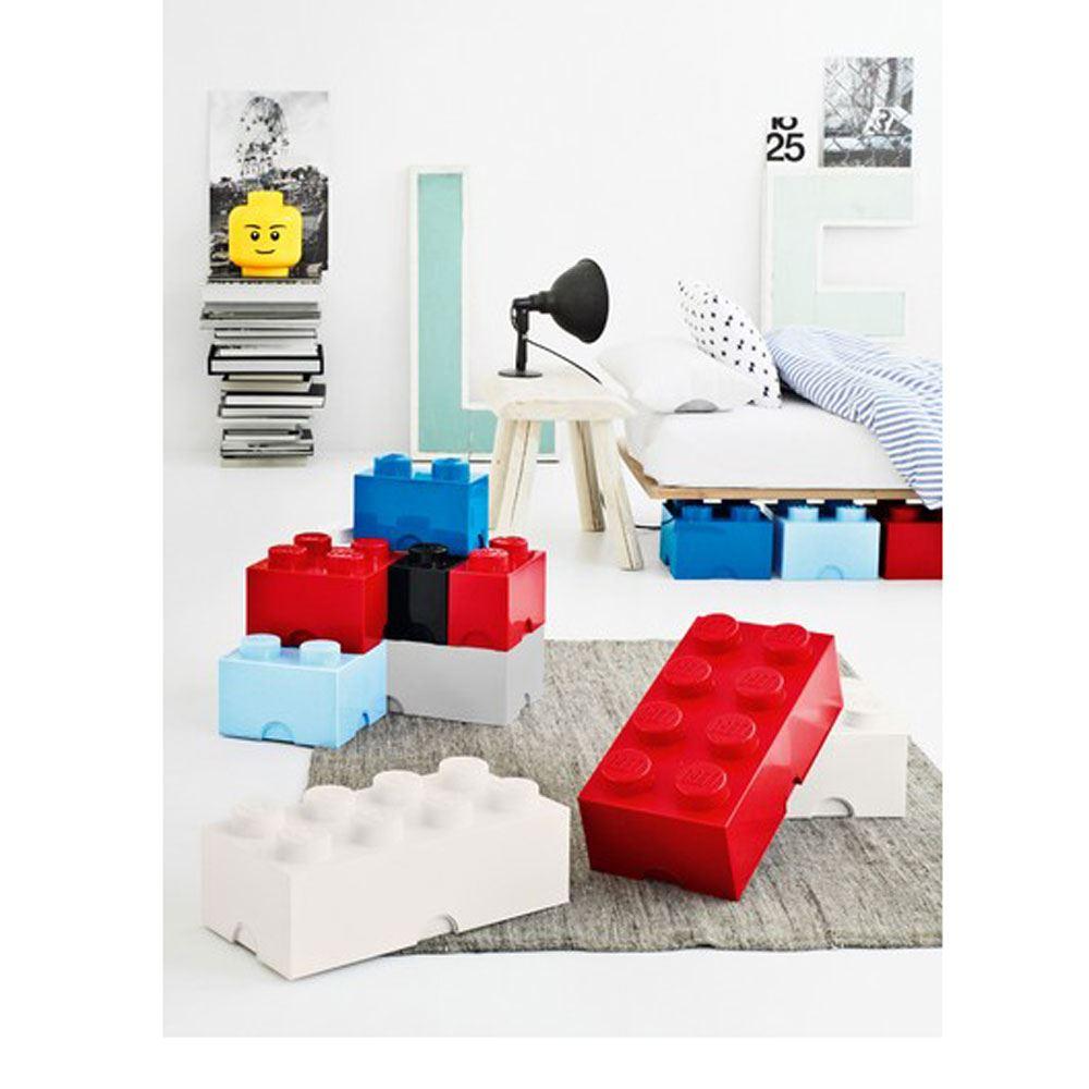 lego gro aufbewahrungsschachtel versiegelt m bel 4 blau. Black Bedroom Furniture Sets. Home Design Ideas