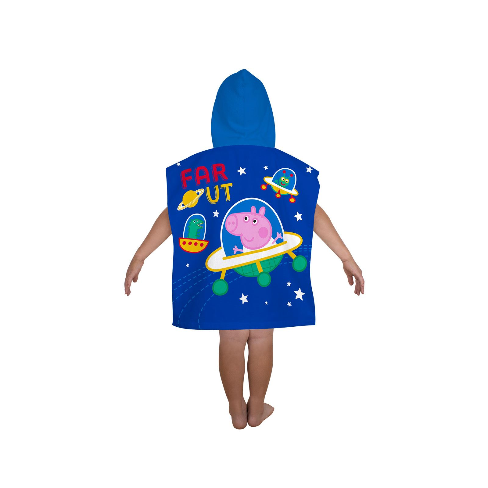 Peppa-Pig-George-100-Cotton-Beach-towels-amp-Hooded-Poncho-Boys-Girls-Kids miniature 3