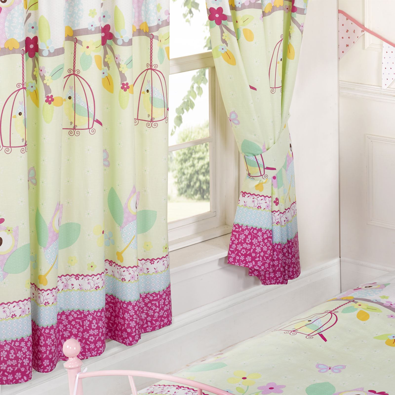 GIRLS BEDROOM CURTAINS 54\