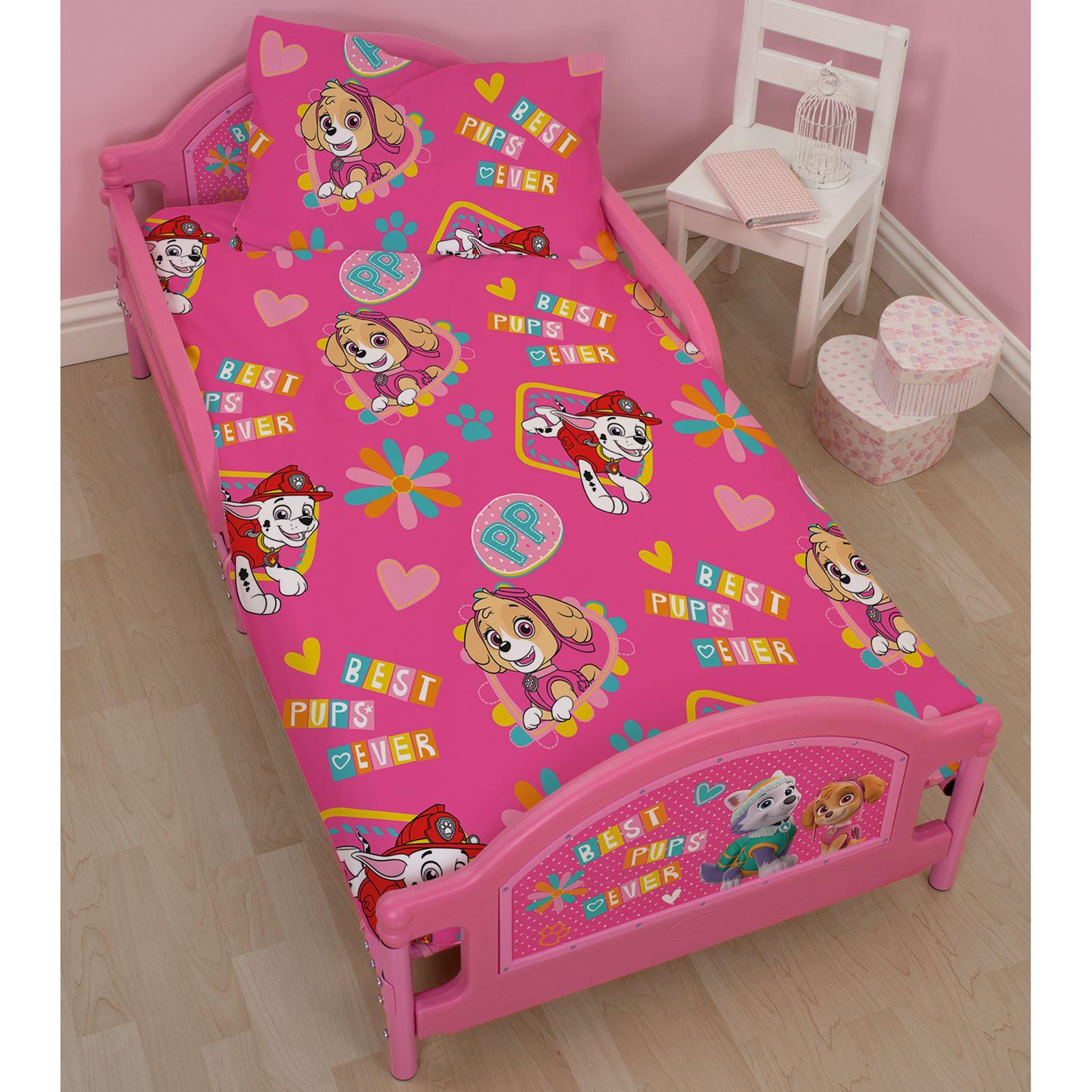 Paw Patrol Forever Junior Toddler Bed Girls Bedroom