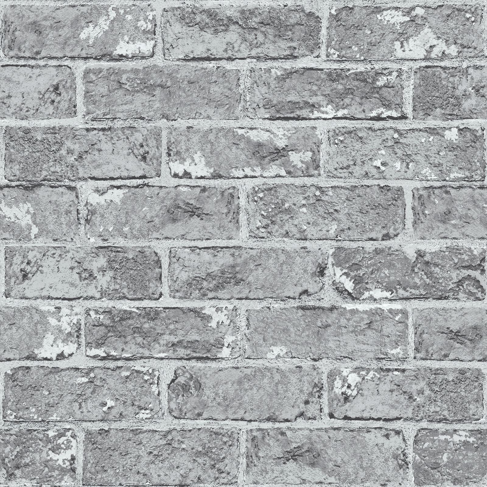 Cornish Stone Effect Wallpaper From B Q: RASCH & FINE DECOR 10M LUXURY BRICK EFFECT WALLPAPER STONE