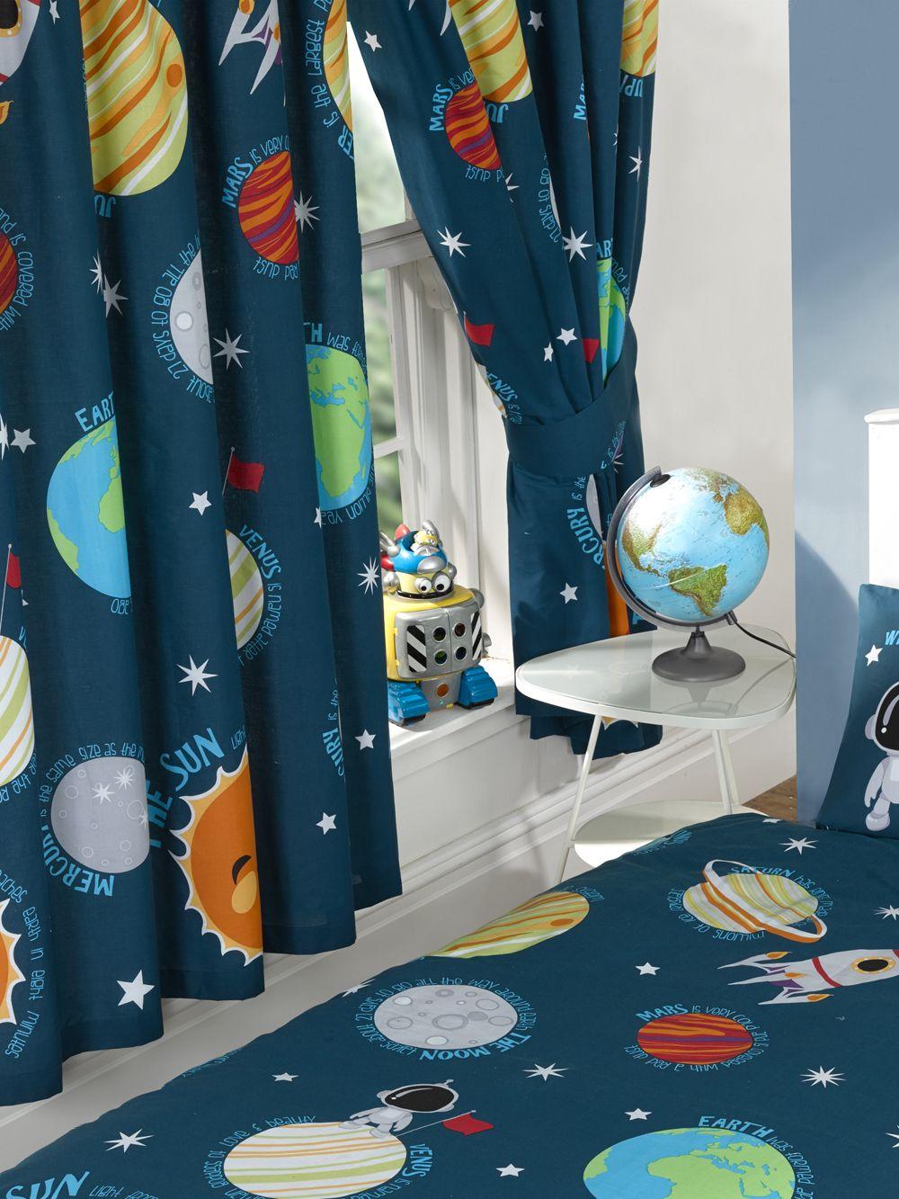 Solar System Junior Duvet Cover 66 Quot Wide X 54 Quot Drop
