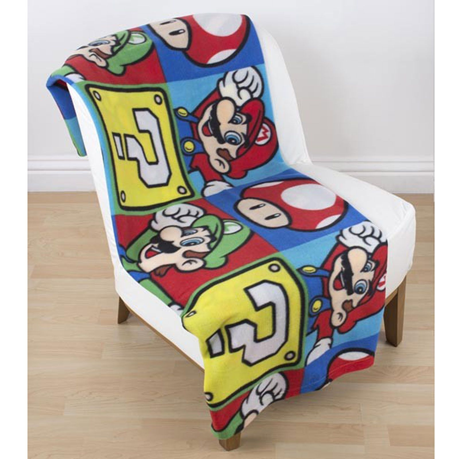 Official Nintendo Super Mario Bedding Duvet Cover Set