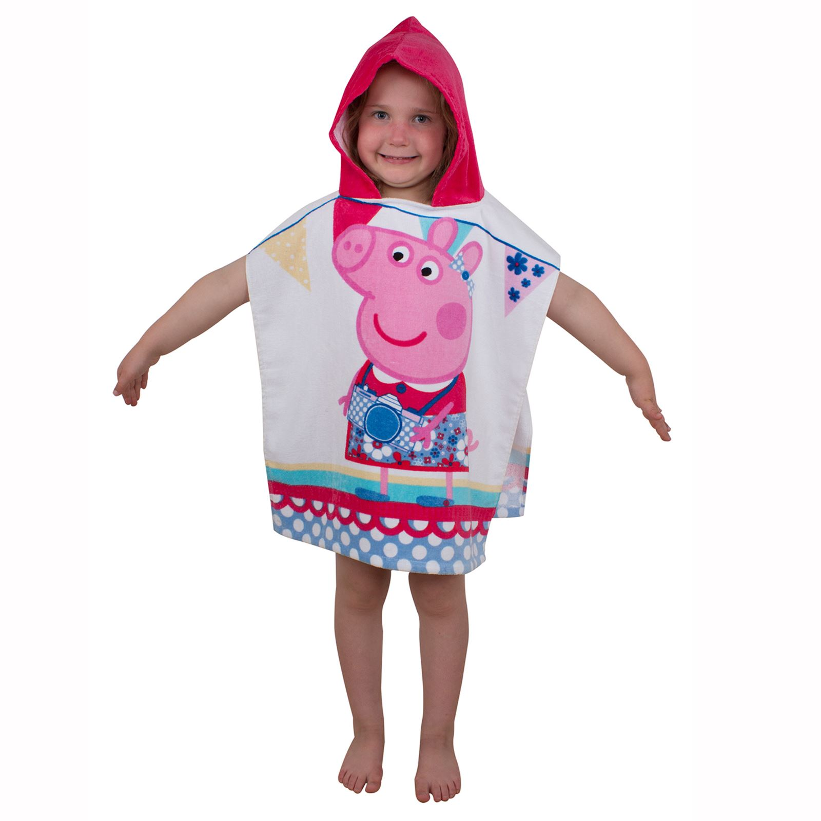 Official Character Kids Hooded Ponchos Disney Paw Patrol