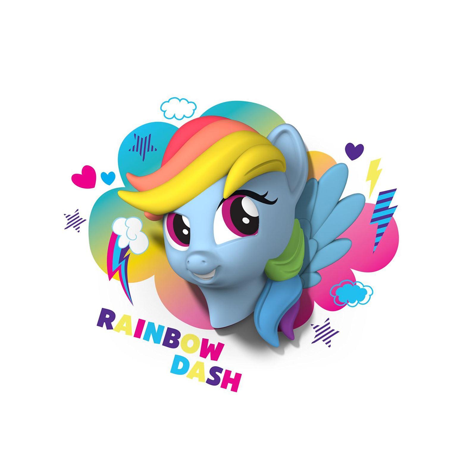 My Little Pony 3d Led Wall Light Pinkie Pie Rainbow Dash
