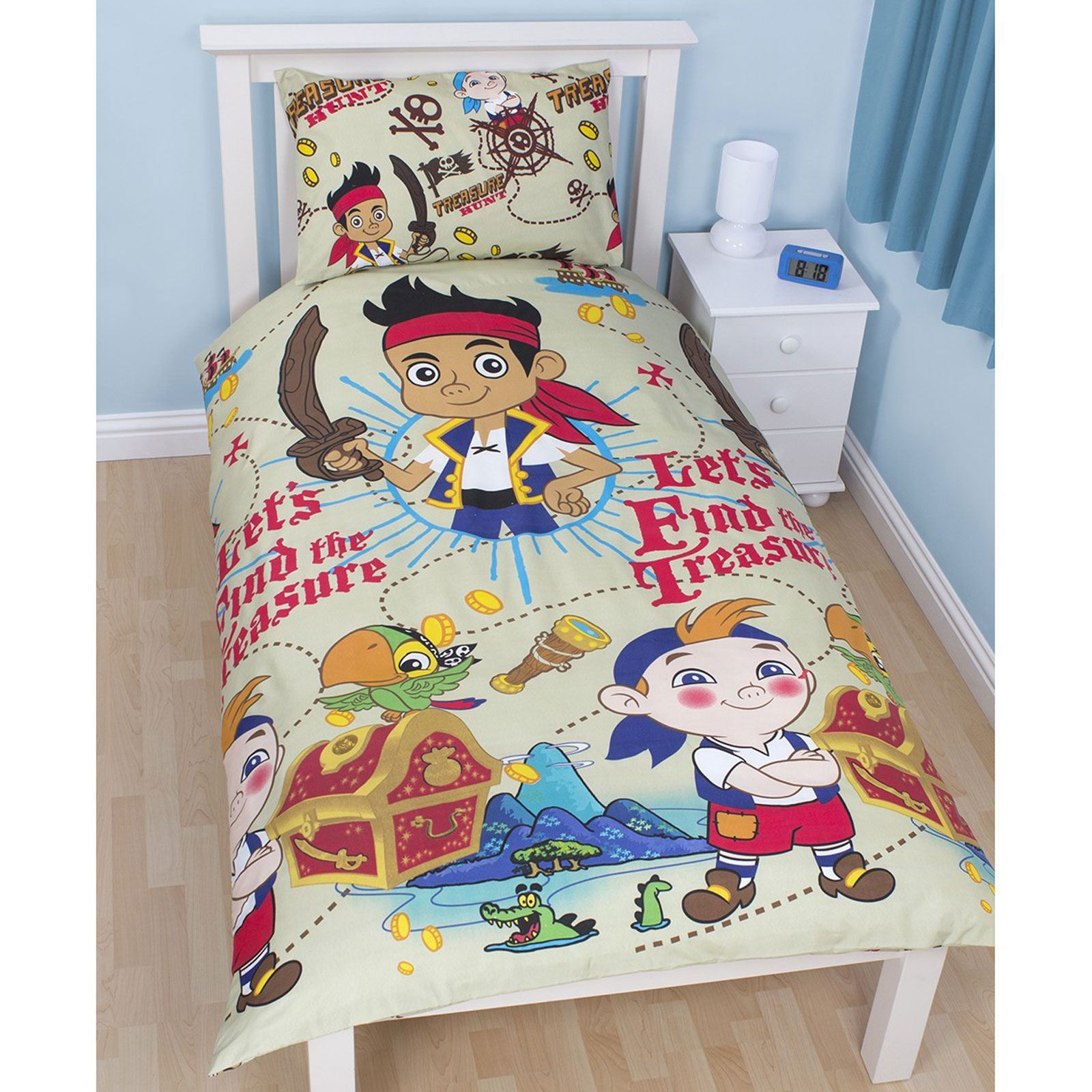 JAKE & THE NEVERLAND PIRATES BEDROOM - DUVET COVERS &amp ...