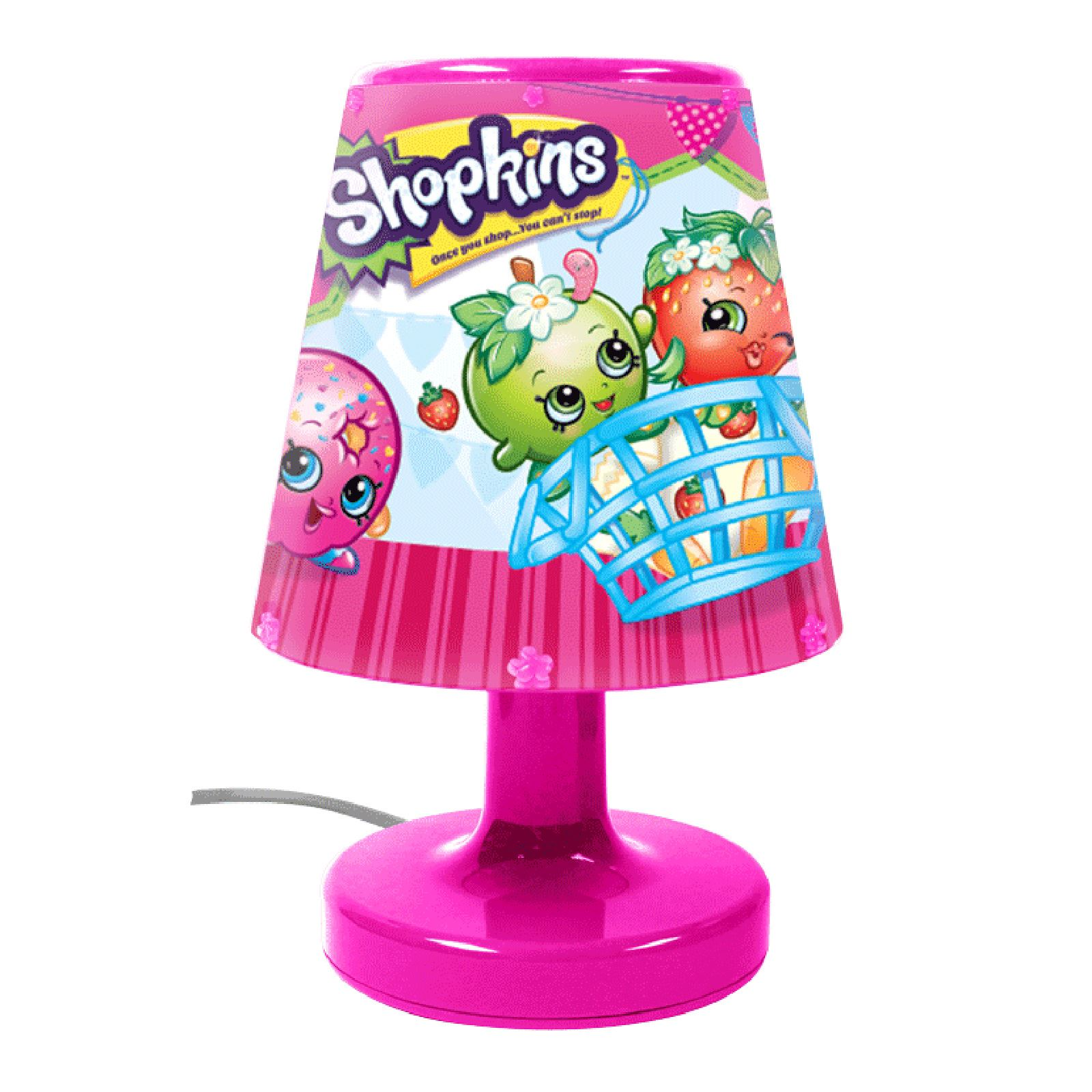 Kids Bedroom Lamp shopkins bedside lamp light kids bedroom lighting - night light