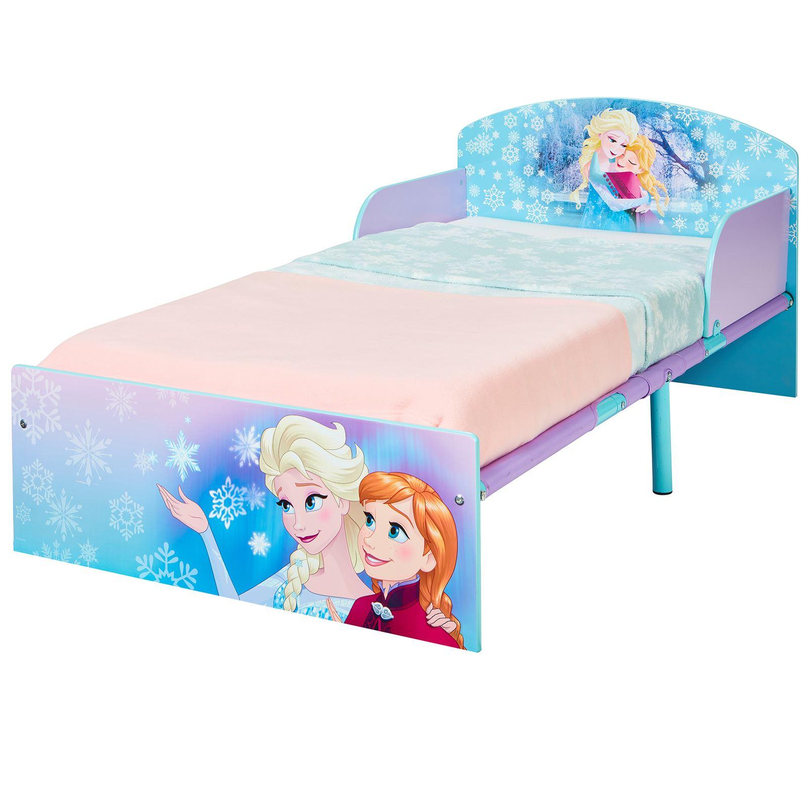 miniatura 11 - KIDS CHARACTER TODDLER BEDS - BOYS GIRLS BEDROOM DISNEY