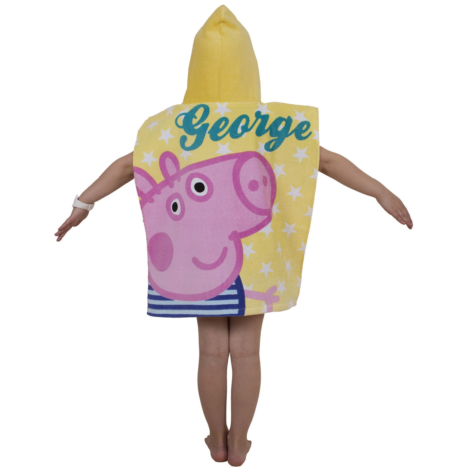 Peppa-Pig-George-100-Cotton-Beach-towels-amp-Hooded-Poncho-Boys-Girls-Kids miniature 14