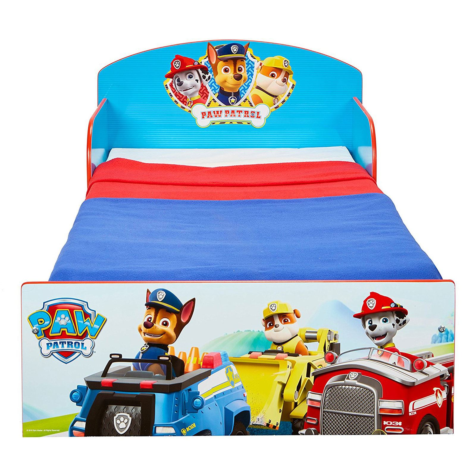 miniatura 31 - KIDS CHARACTER TODDLER BEDS - BOYS GIRLS BEDROOM DISNEY