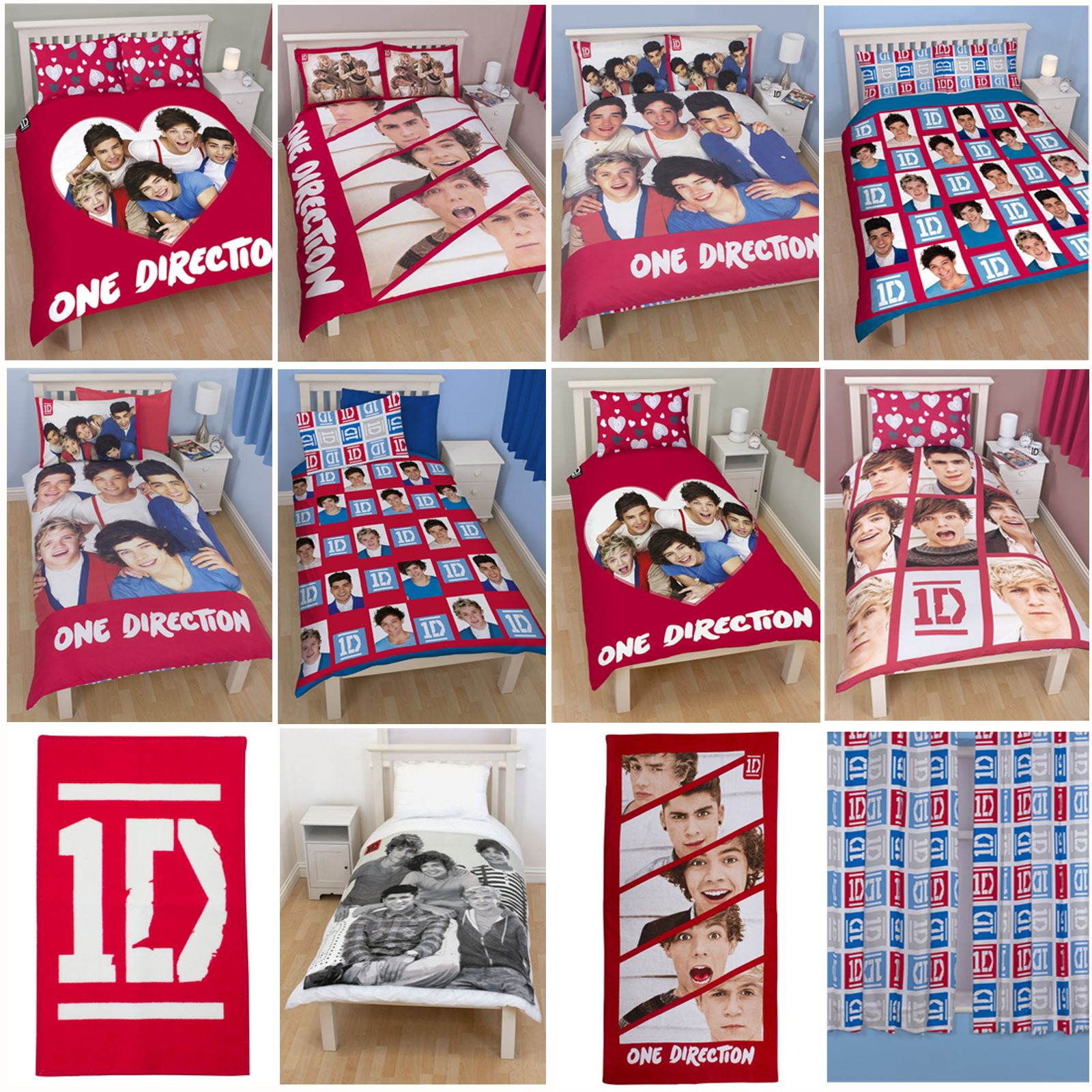 Details about One-Direction-Duvets