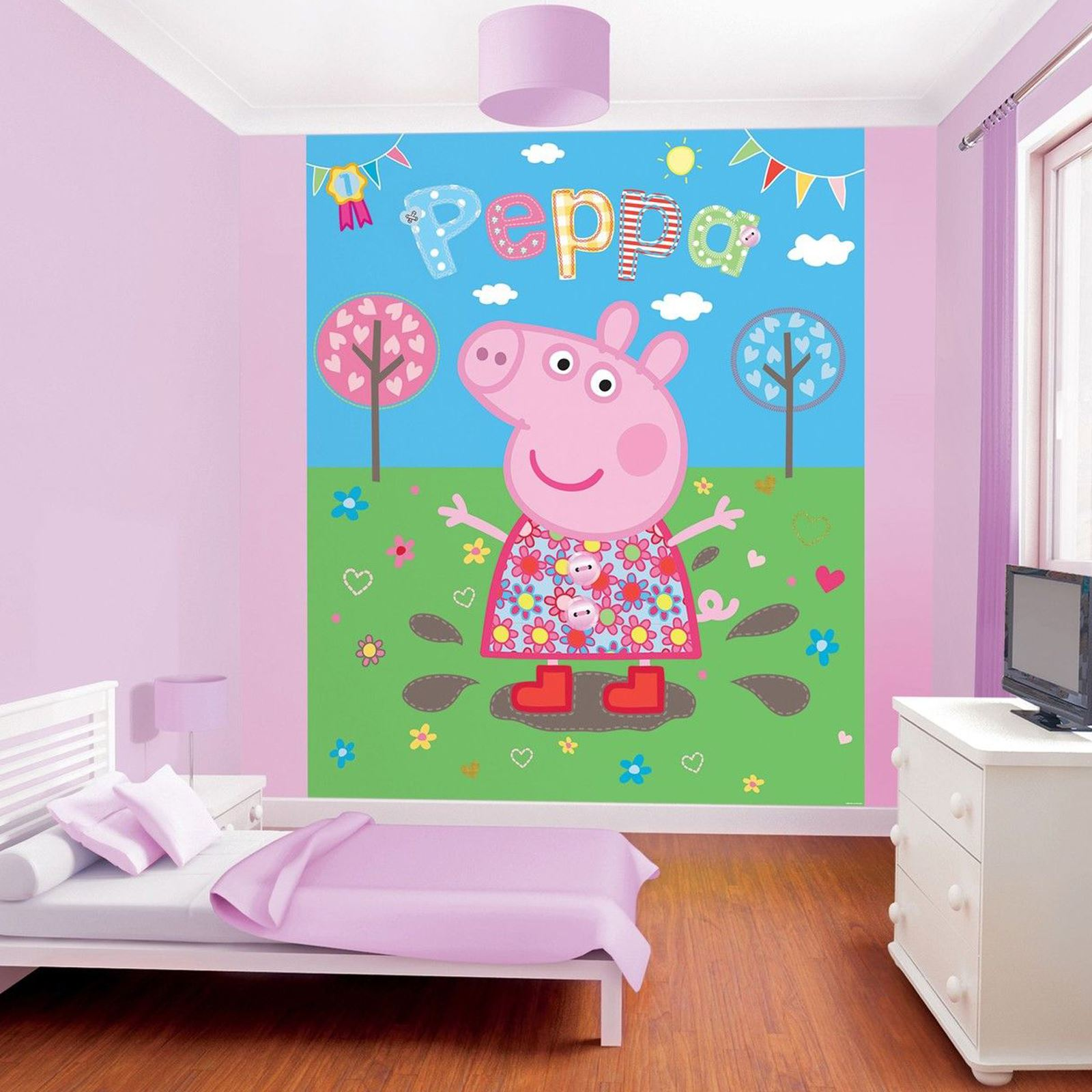 Bedroom Murals Uk: WALLTASTIC WALLPAPER WALL MURALS KIDS BEDROOM