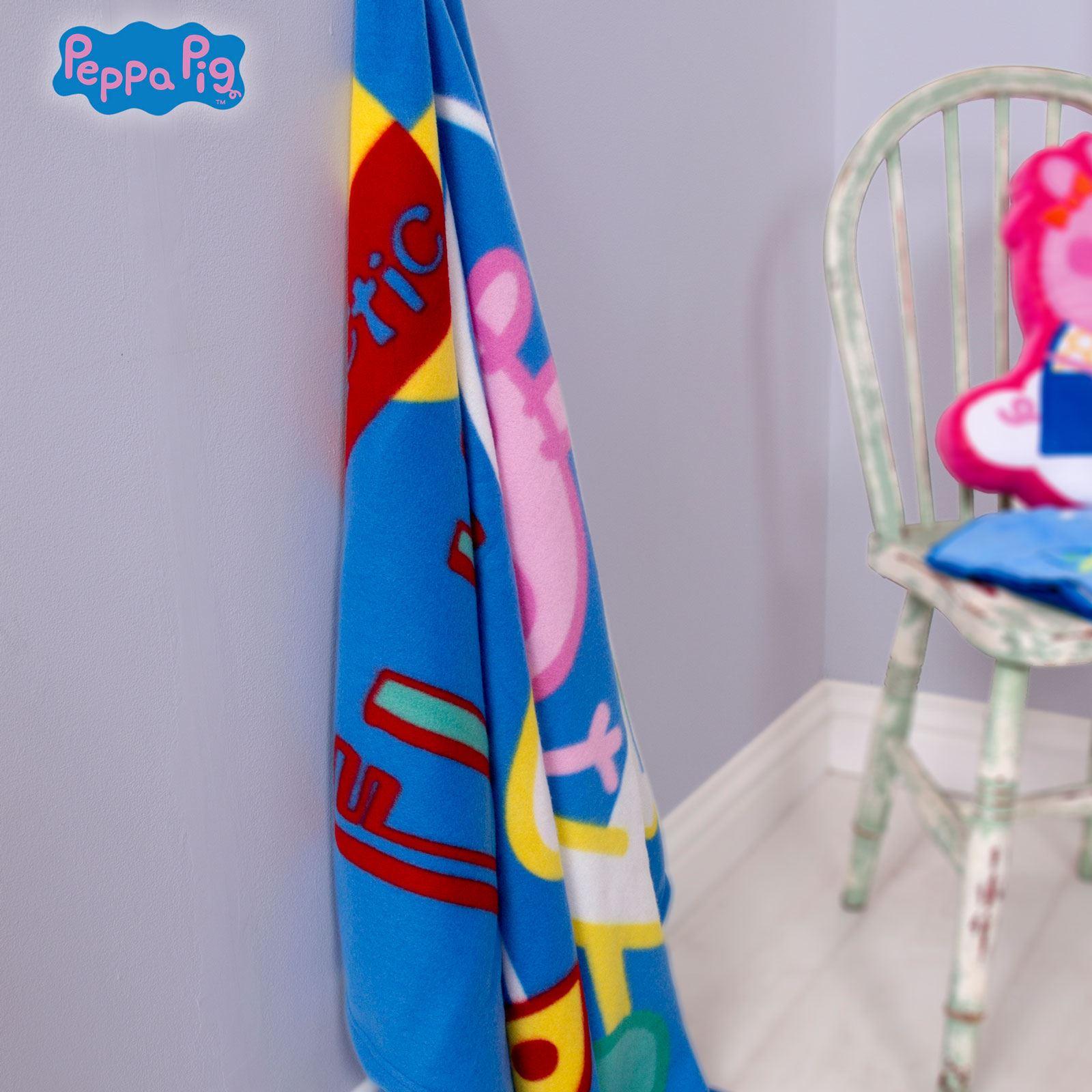 Peppa Pig George Planets Single Duvet Cover Cushion