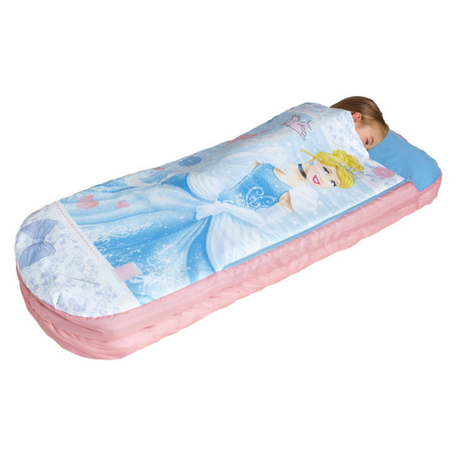 Inflatable bed for kids - Kids Readybeds Inflatable Bed Sleepover Camping Disney Cars