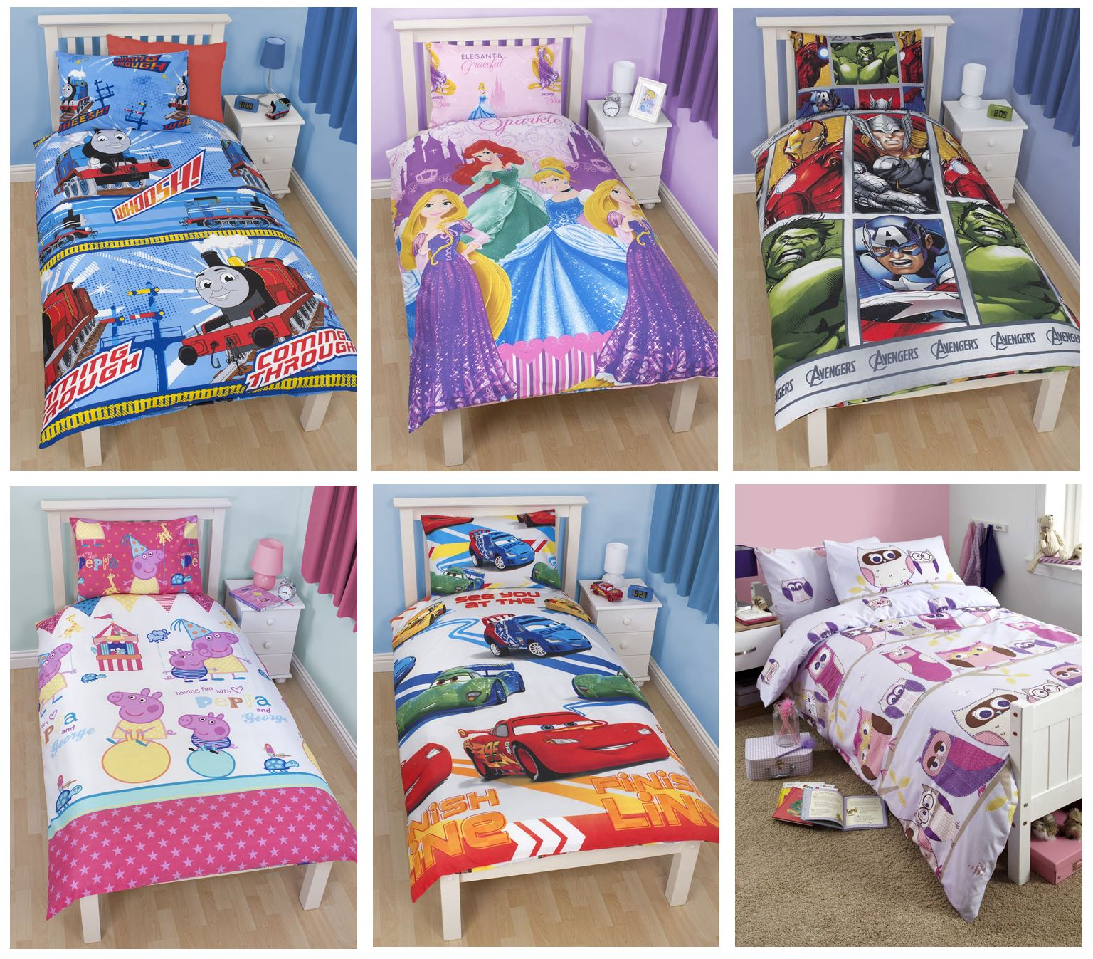 disney bedroom set disney and character single duvet cover sets boys 11440