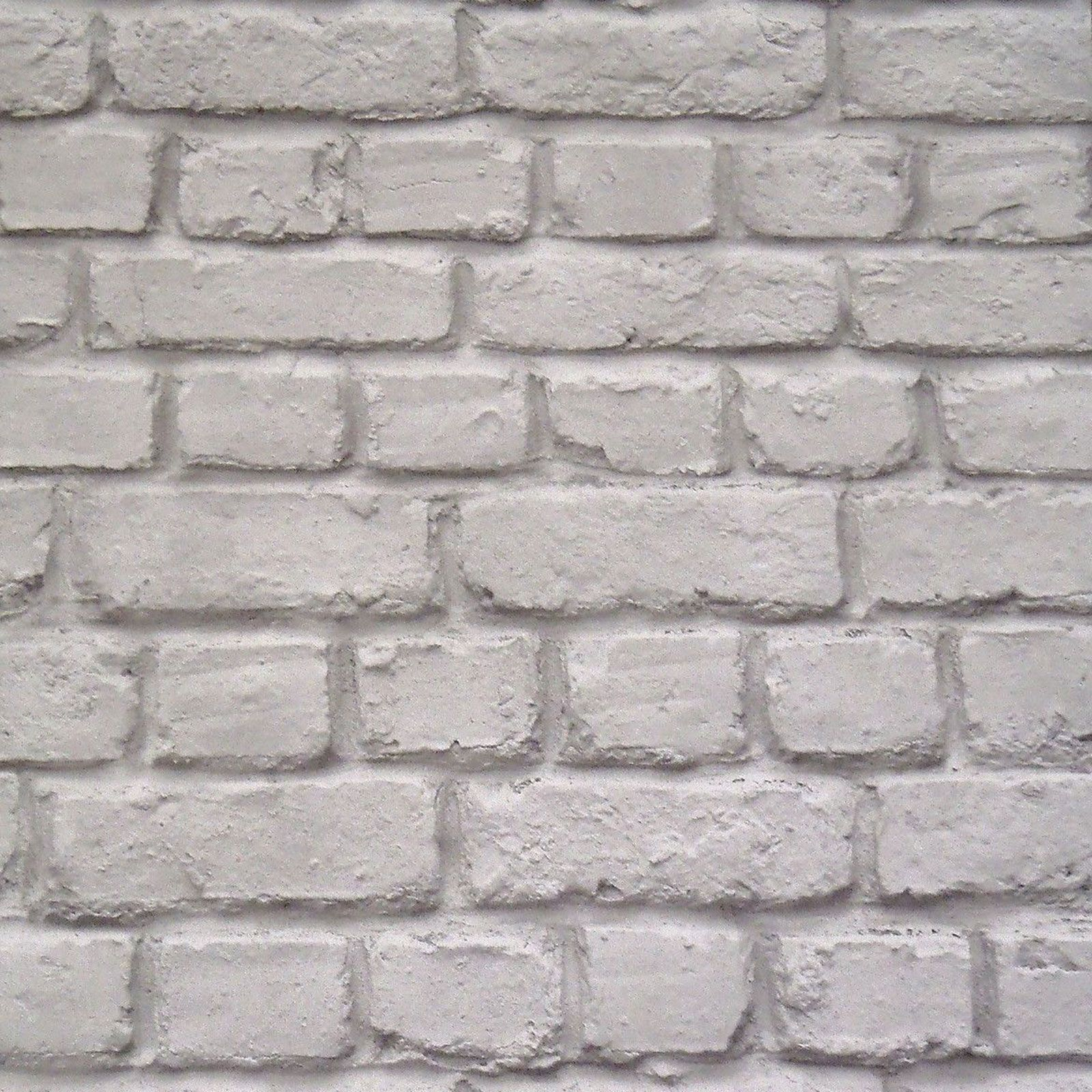 Cornish Stone Effect Wallpaper From B Q: GREY BRICK EFFECT WALLPAPER SUITABLE FOR ANY ROOM