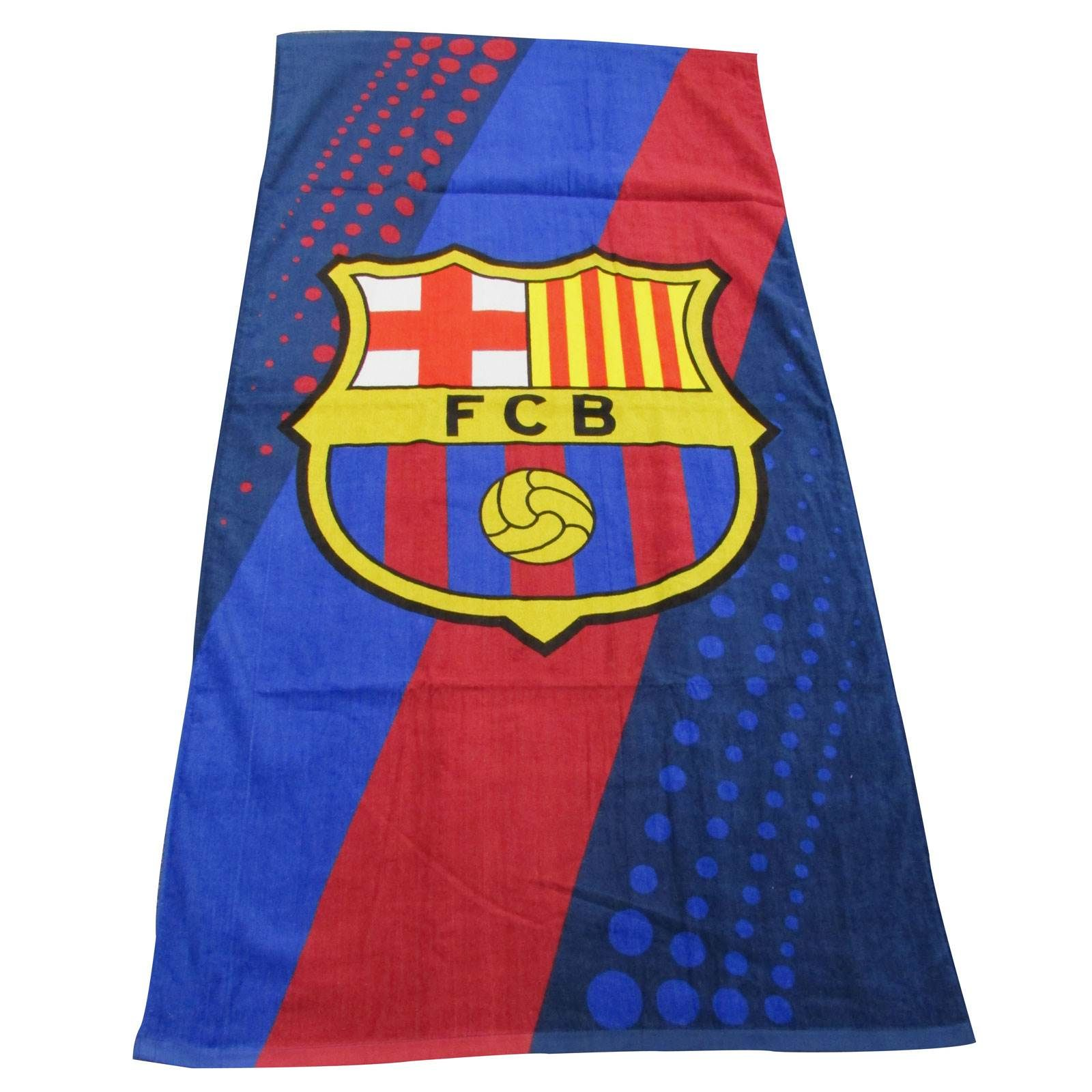 Official Barcelona Beach Bath Towels 100 Cotton Pool