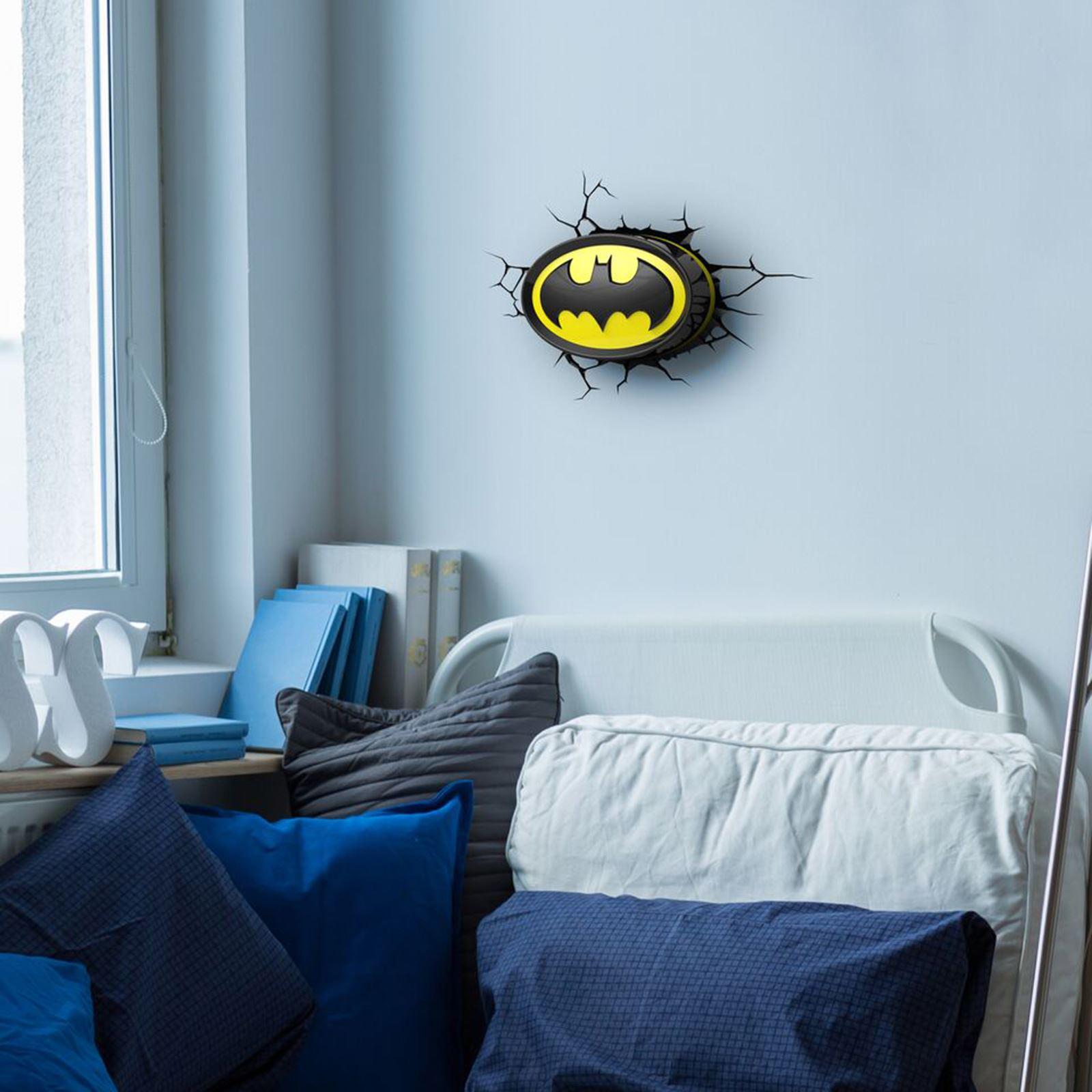 Dc Comics Batman Amp Superman 3d Wall Lights Nightlight