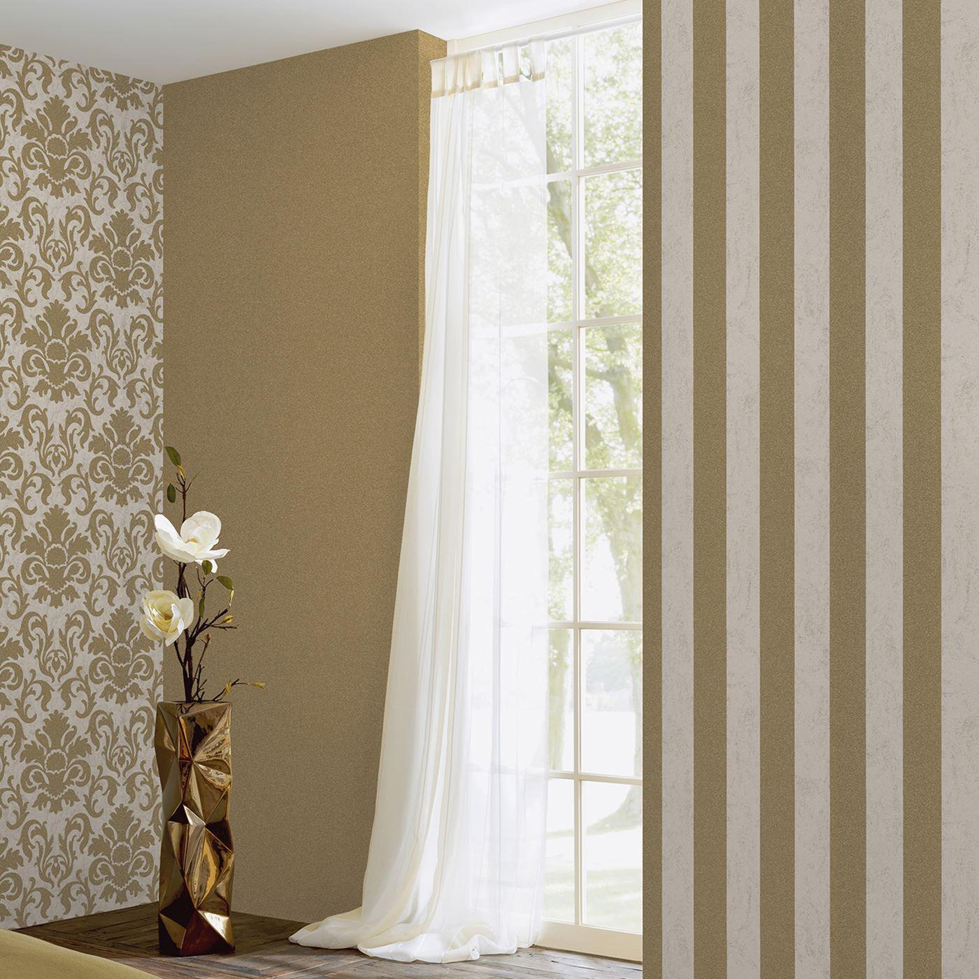 Gold Glitter Wall Decor : P s carat glitter wallpaper gold copper silver room