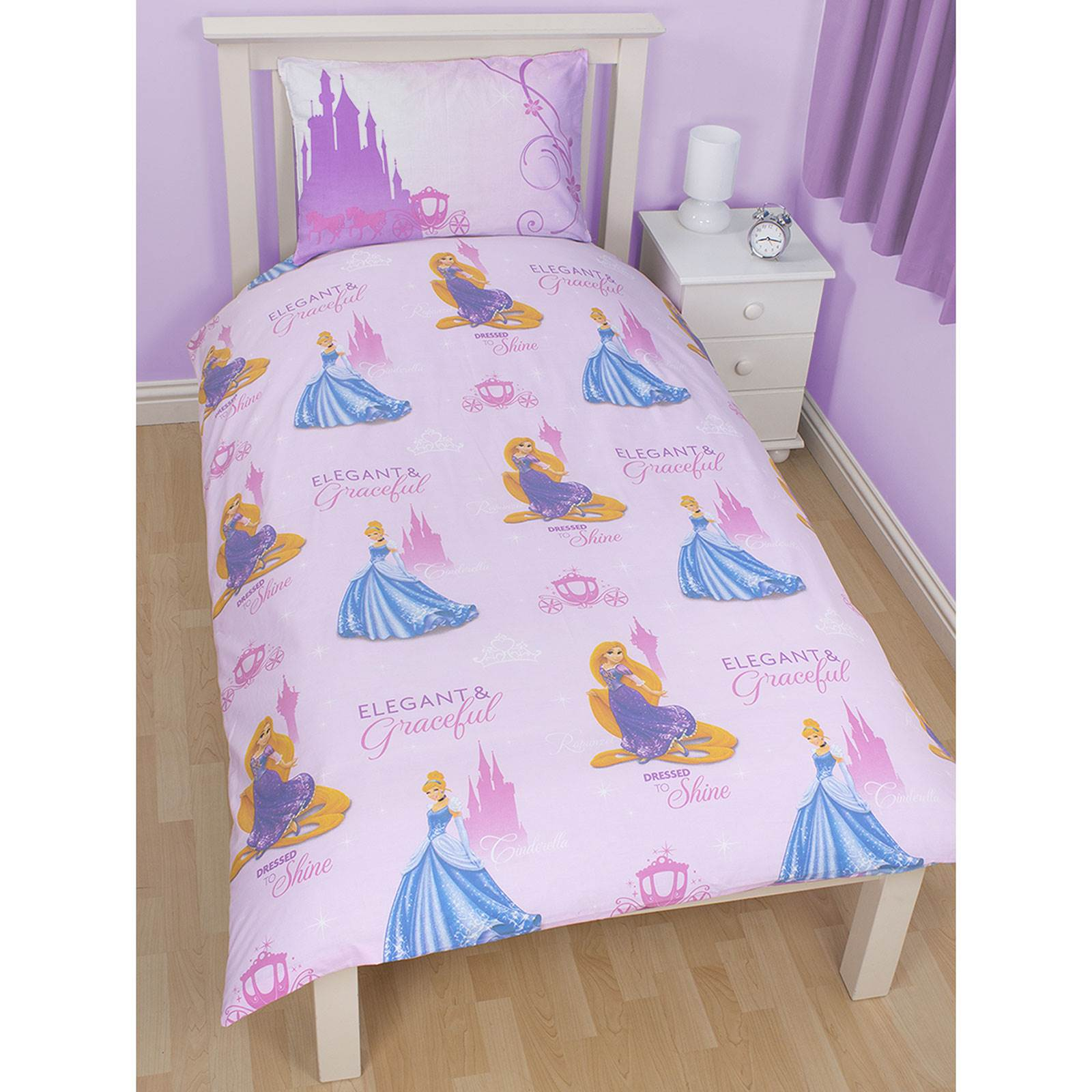 disney princess bettw sche sets einzeln doppel kindergr ssen ebay. Black Bedroom Furniture Sets. Home Design Ideas