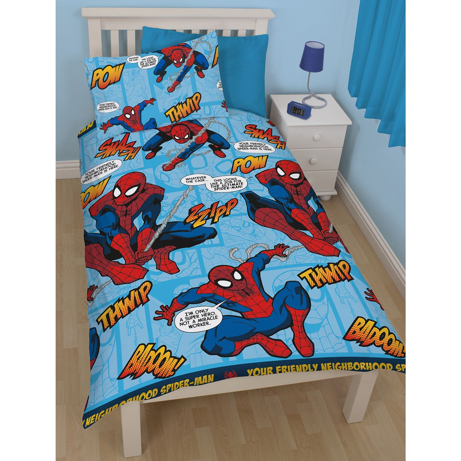 Disney and Character Kids Single Duvet Cover Sets Boys Girls