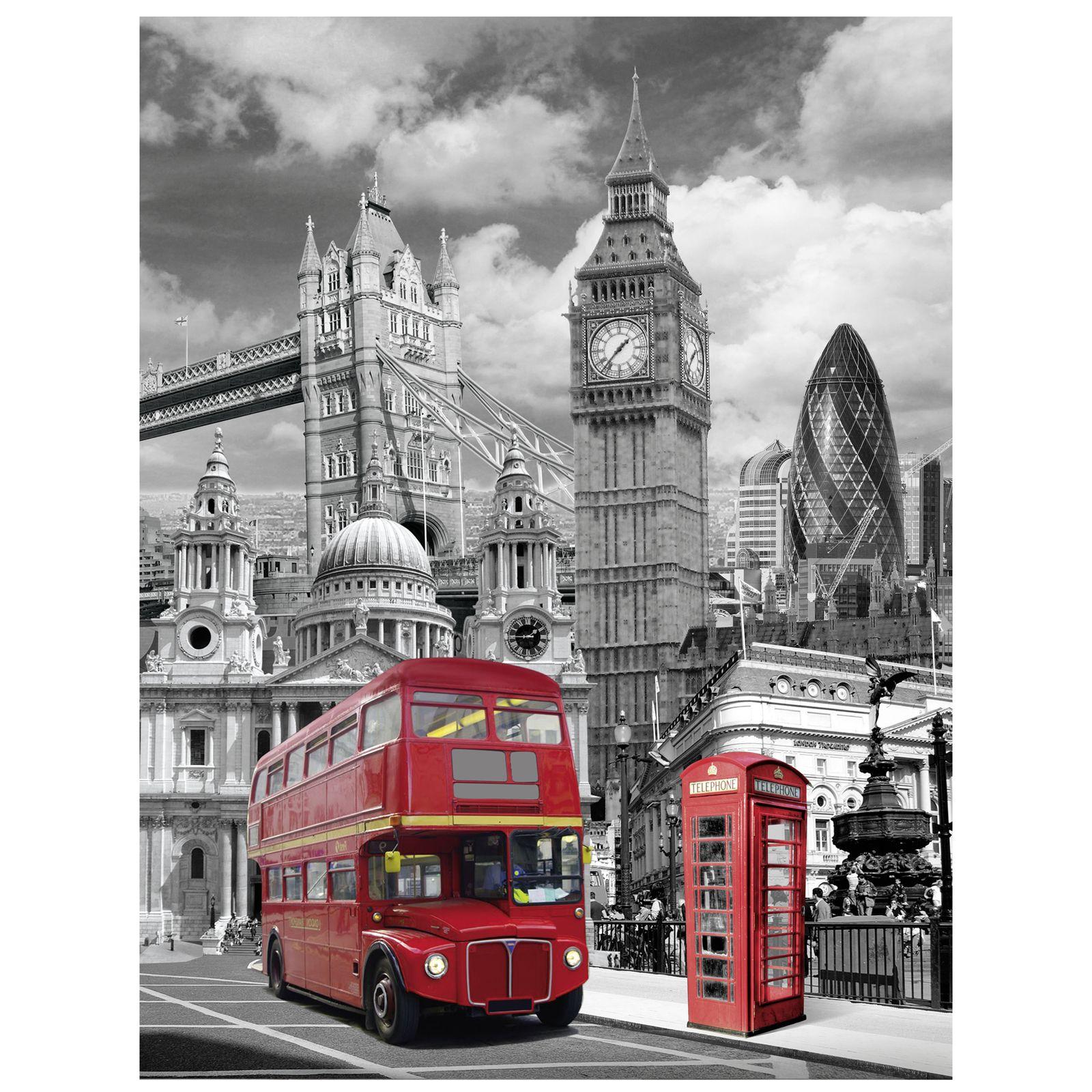 LONDON BEDDING SINGLE DUVET COVER SETS CITY LANDMARKS BIG BEN