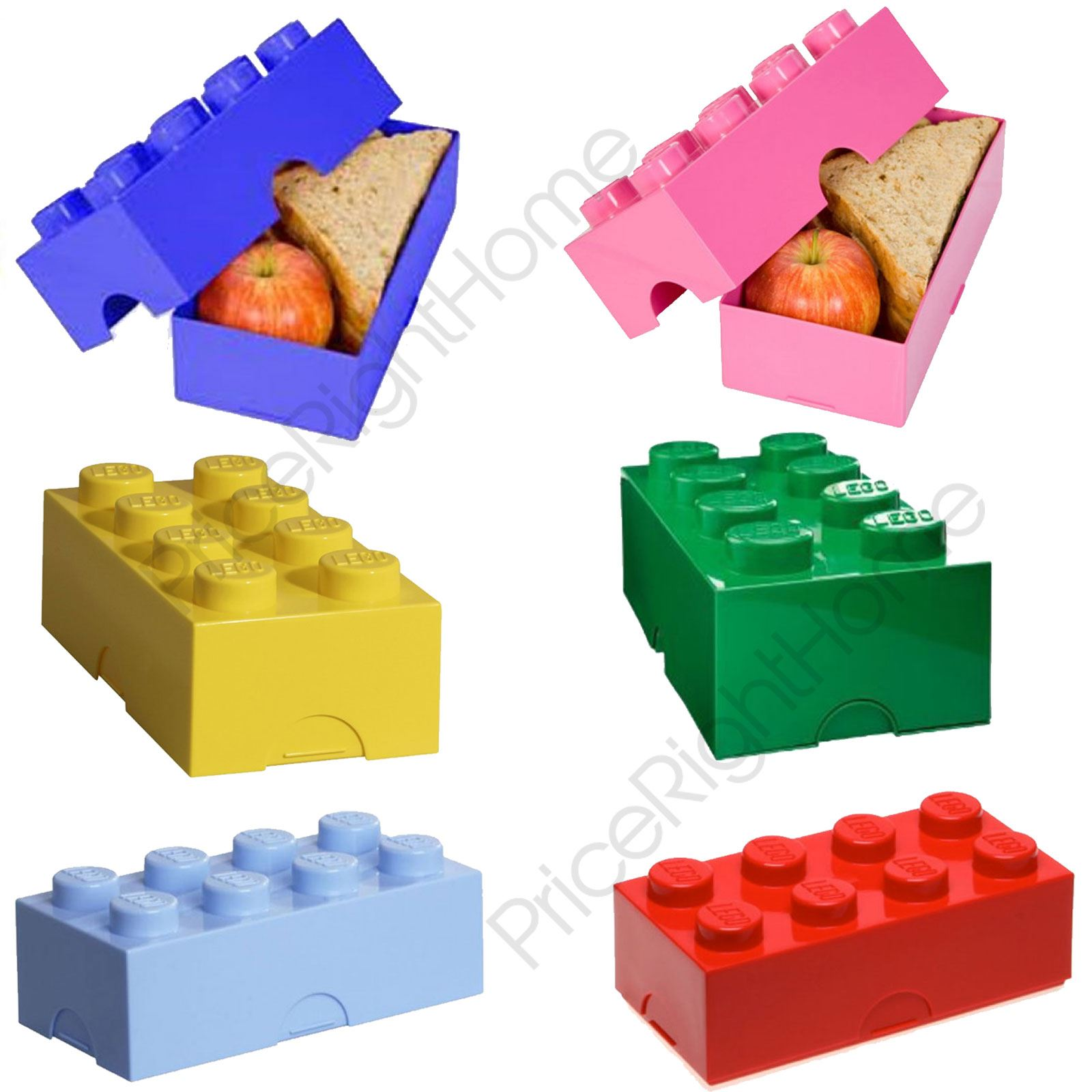 LEGO LUNCH STORAGE BOX KIDS SCHOOL LUNCH BOX VARIOUS COLOURS AVAILABLE | eBay