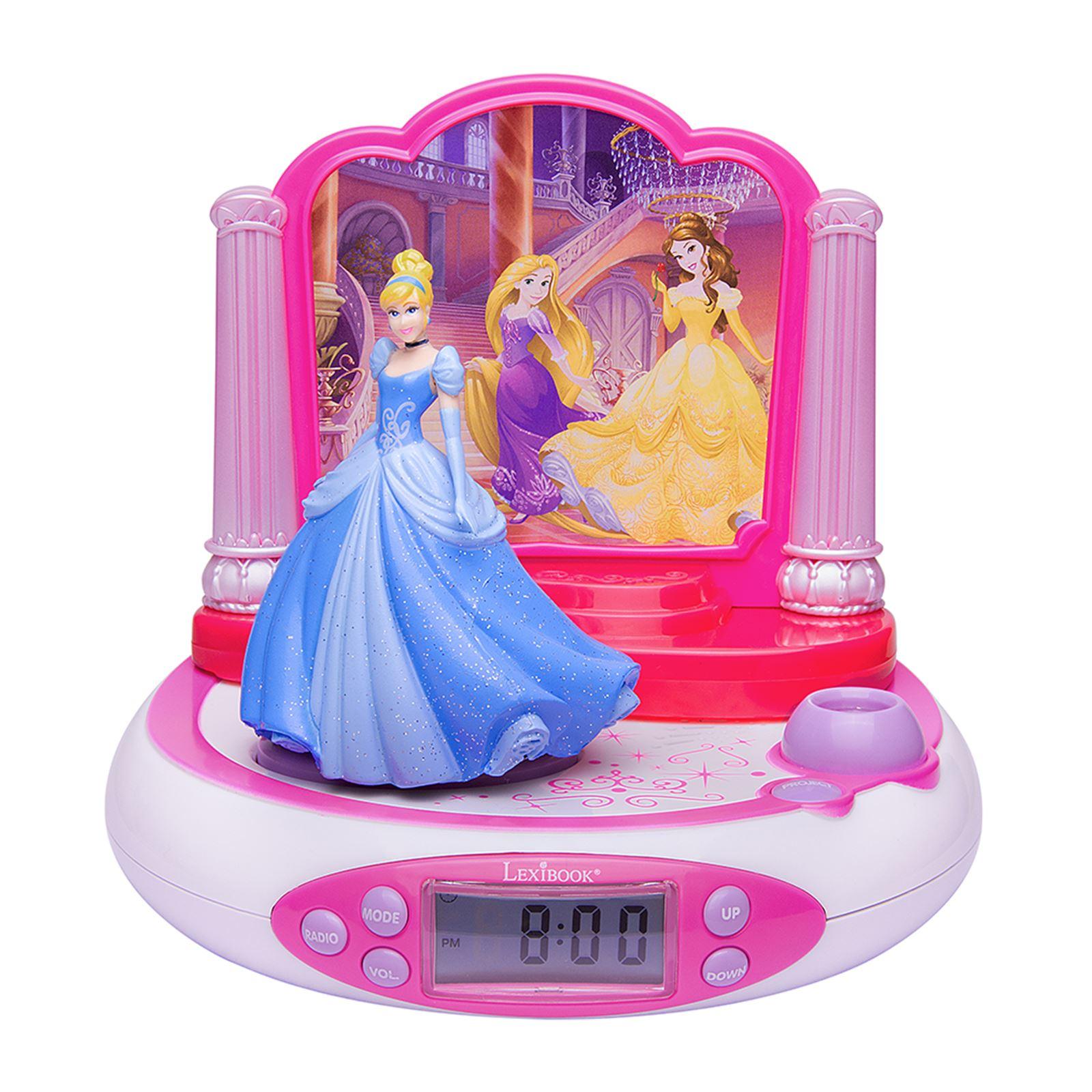 Radio Projector Alarm Clock Avengers Princess Frozen