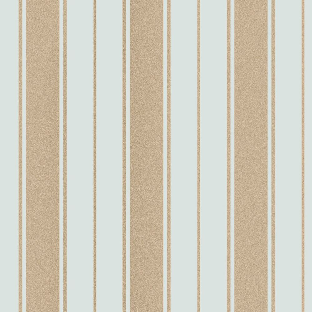 Fine Decor Wentworth Stripe Wallpaper Black Grey Cream