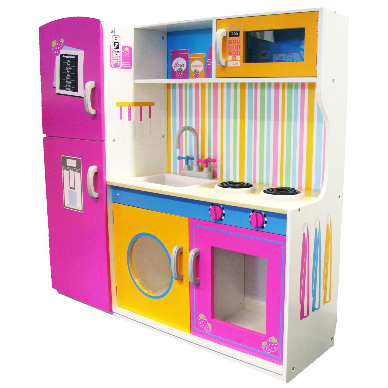 wooden kitchen accessories for children leomark wooden kitchen childrens play kitchen with 1959