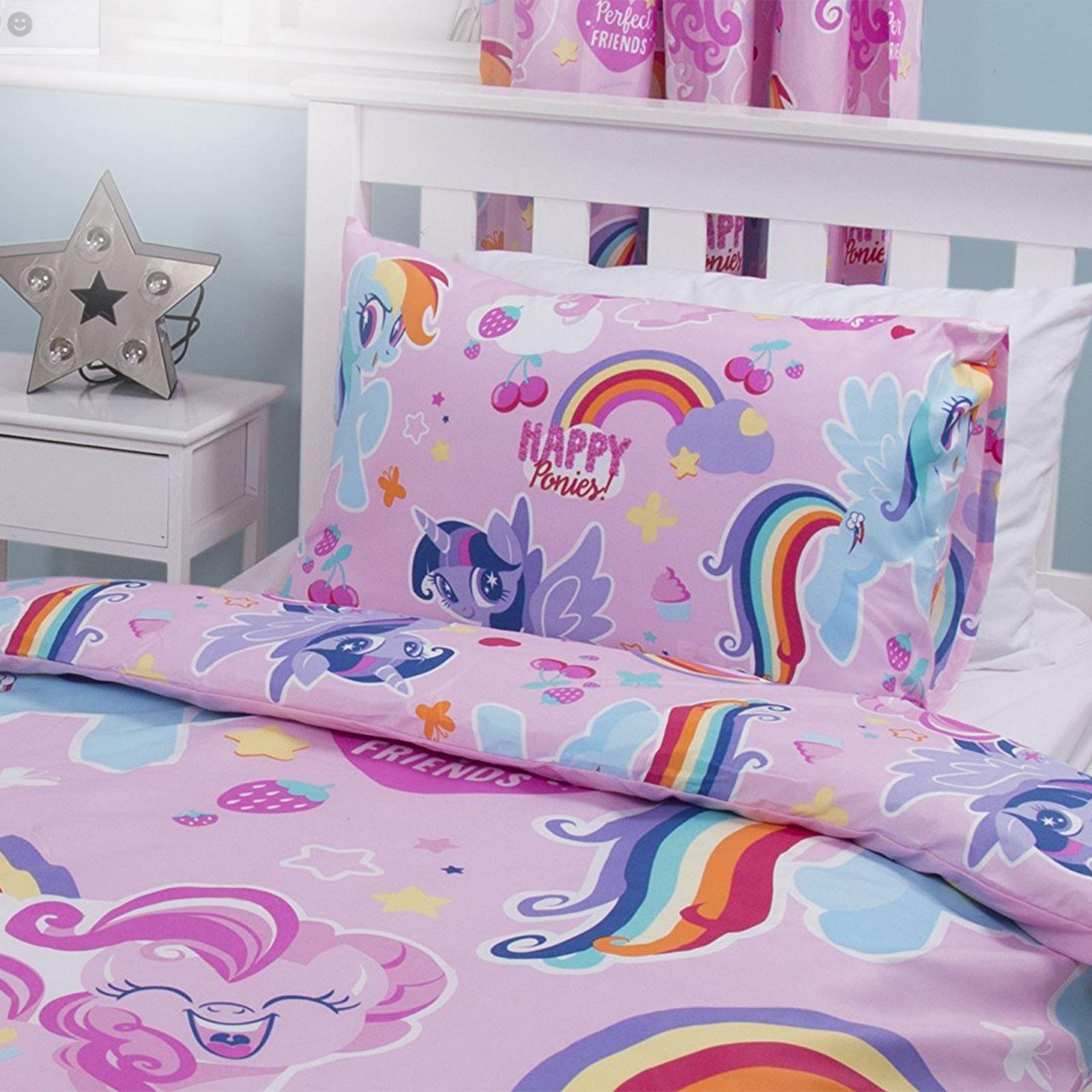 my little pony crush single duvet cover set reversible
