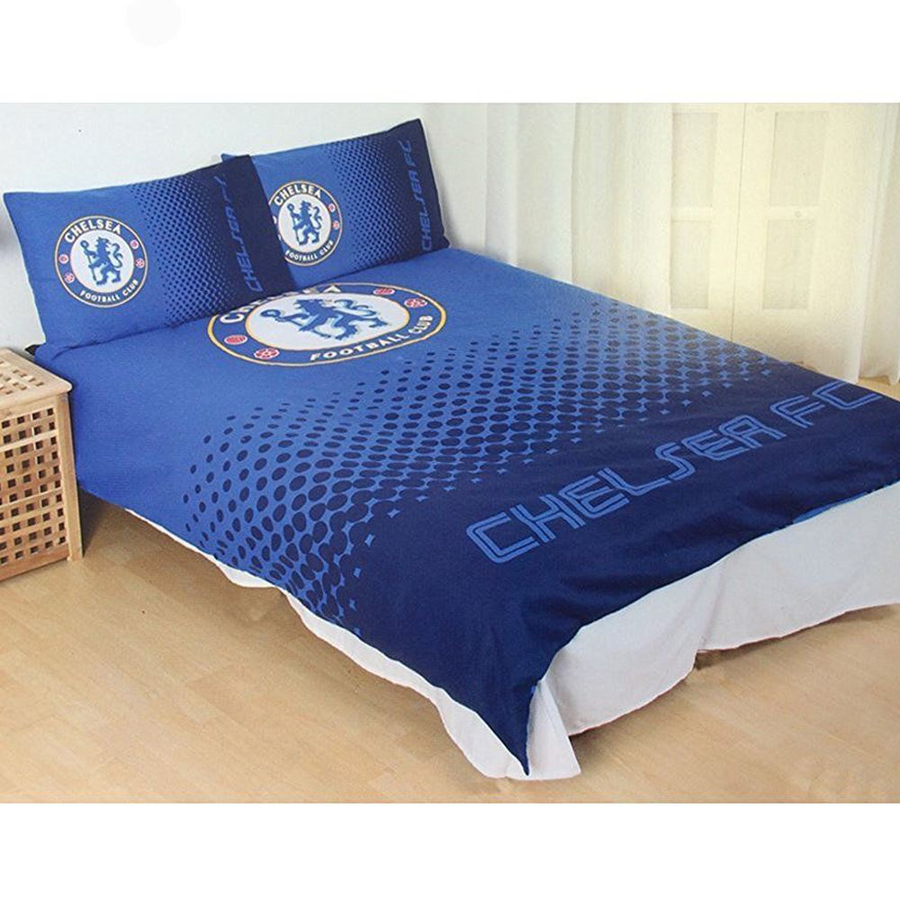 football clubs duvet cover set single double arsenal barcelona chelsea more ebay. Black Bedroom Furniture Sets. Home Design Ideas