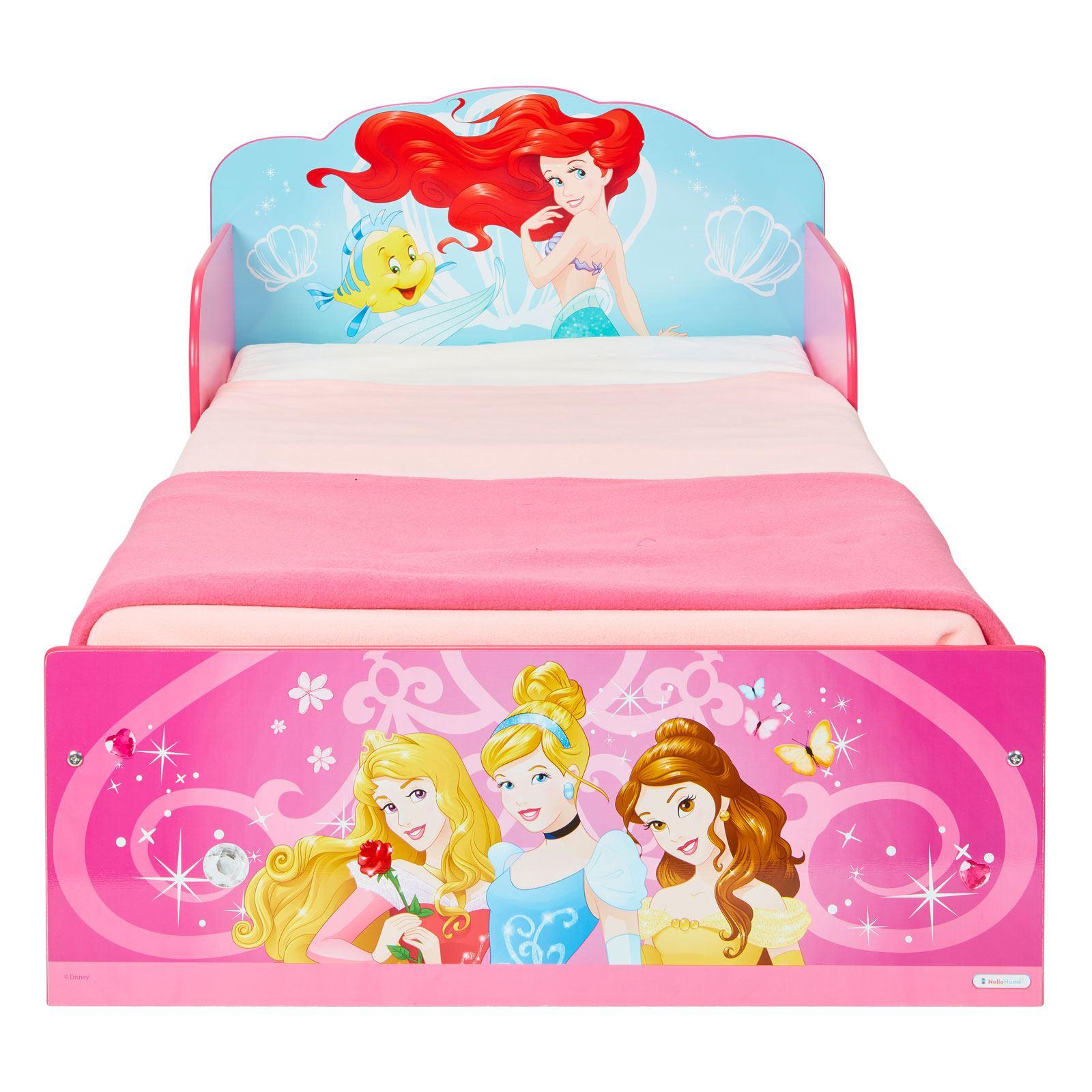 miniatura 16 - KIDS CHARACTER TODDLER BEDS - BOYS GIRLS BEDROOM DISNEY