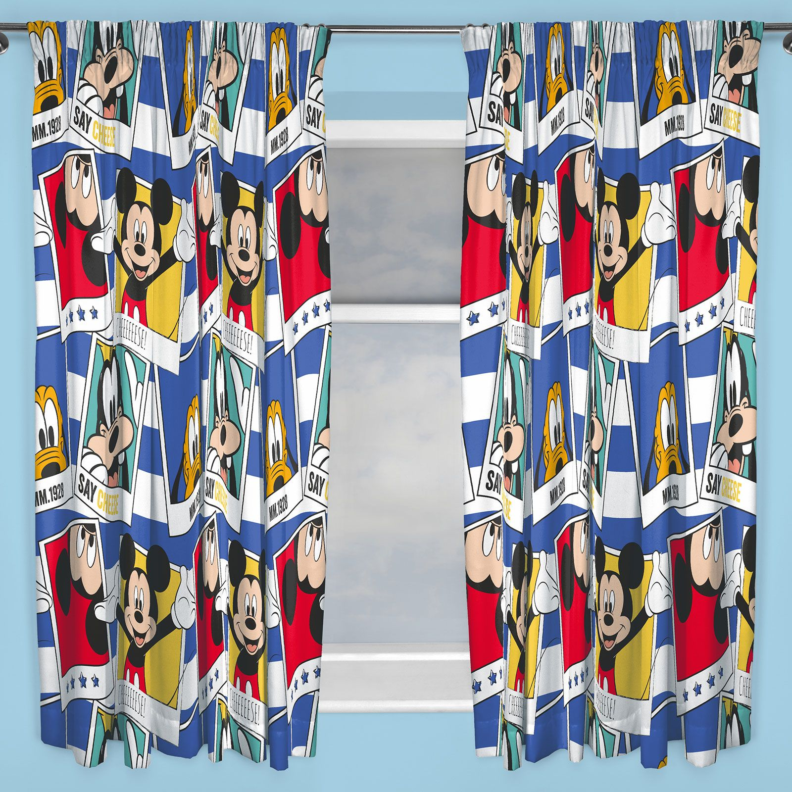 BOYS BEDROOM CHARACTER CURTAINS MARVEL,STAR WARS, PAW