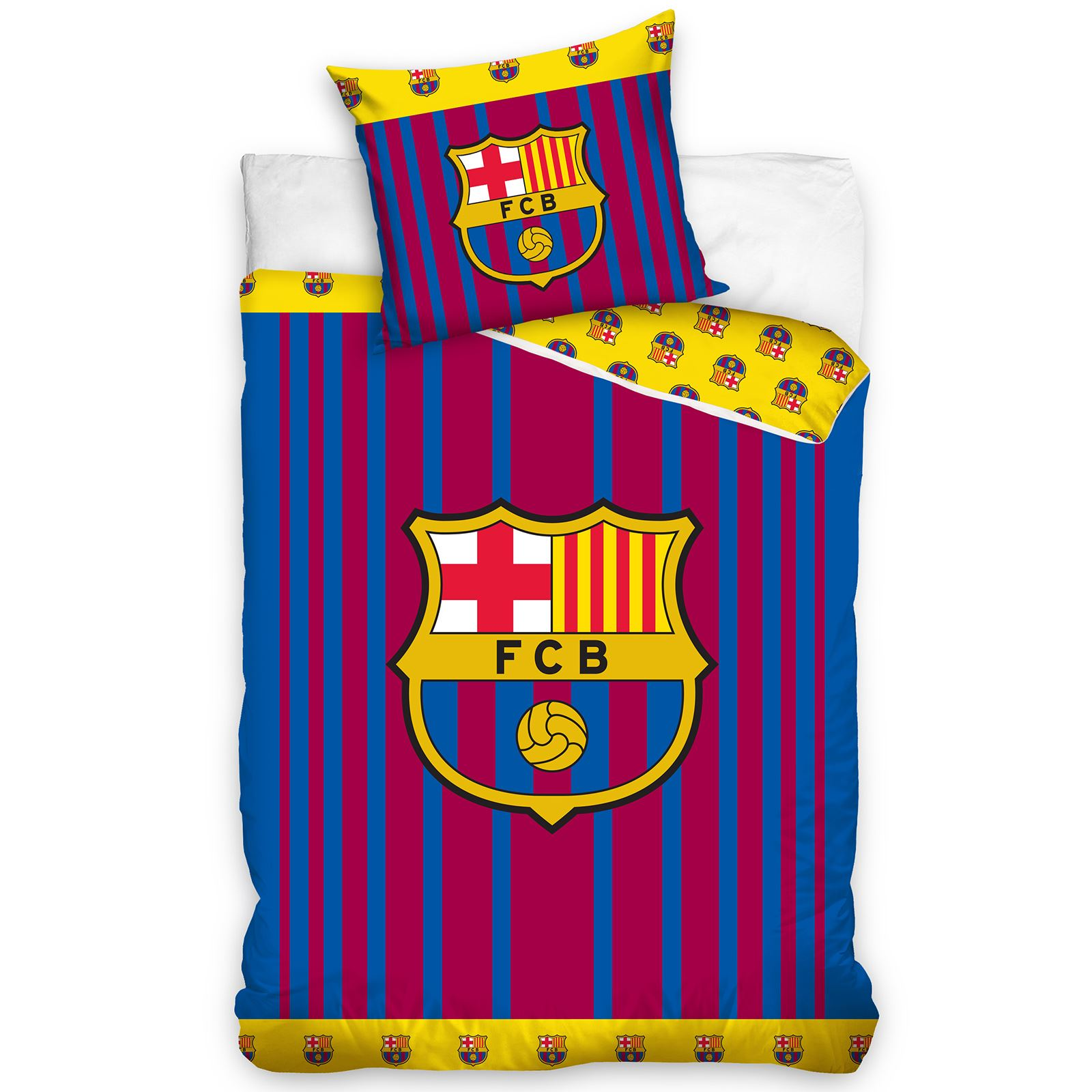 FOOTBALL-CLUBS-Set-Housse-de-couette-simple-double-ARSENAL-BARCELONE-CHELSEA-amp