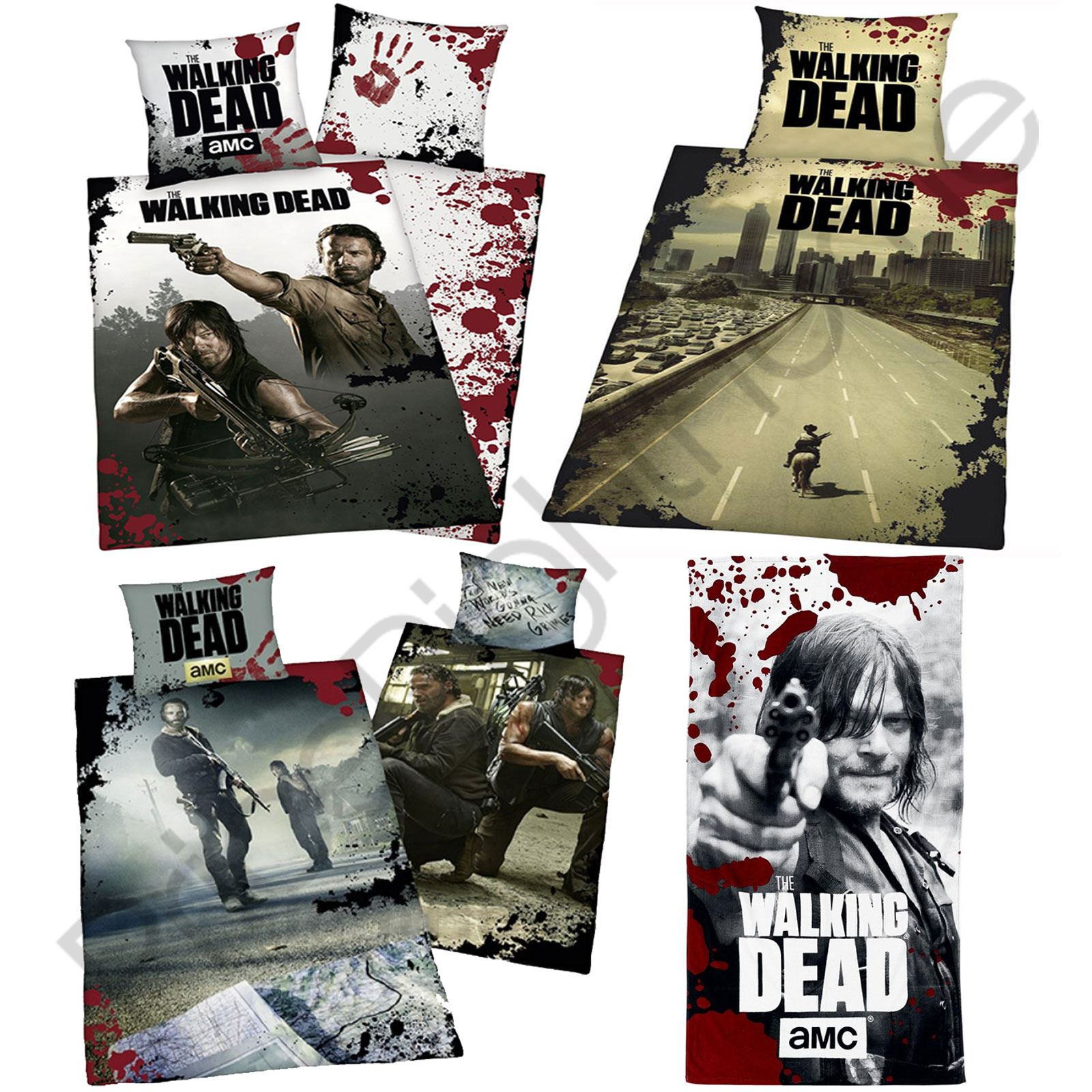 Walking Dead Single Duvet Cover Sets Fleece Blanket
