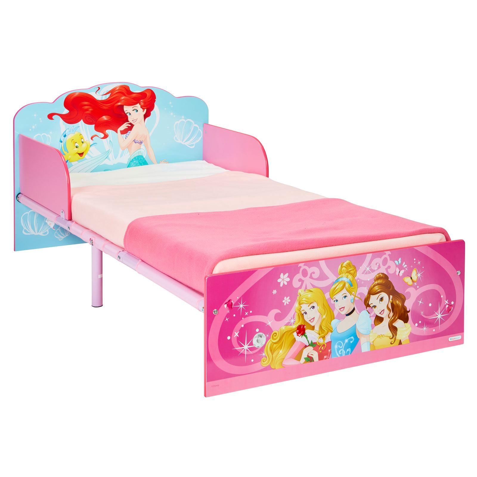 Détails sur Disney princess Bébé Lit Junior Enfants Filles Chambre -  Matelas Options