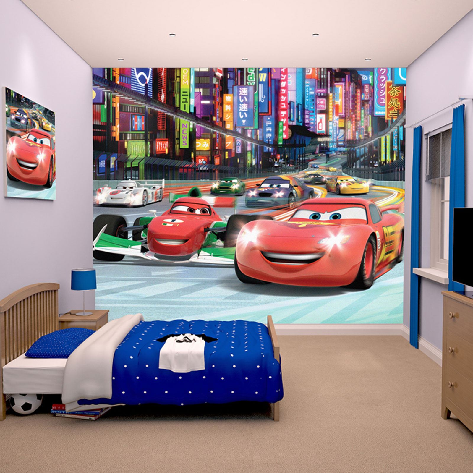 DISNEY CARS WALL MURALS 6 DESIGNS AVAILABLE KIDS  Part 78