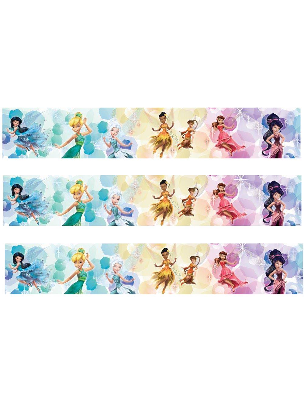 Girls character self adhesive wallpaper borders disney for Self adhesive wallpaper