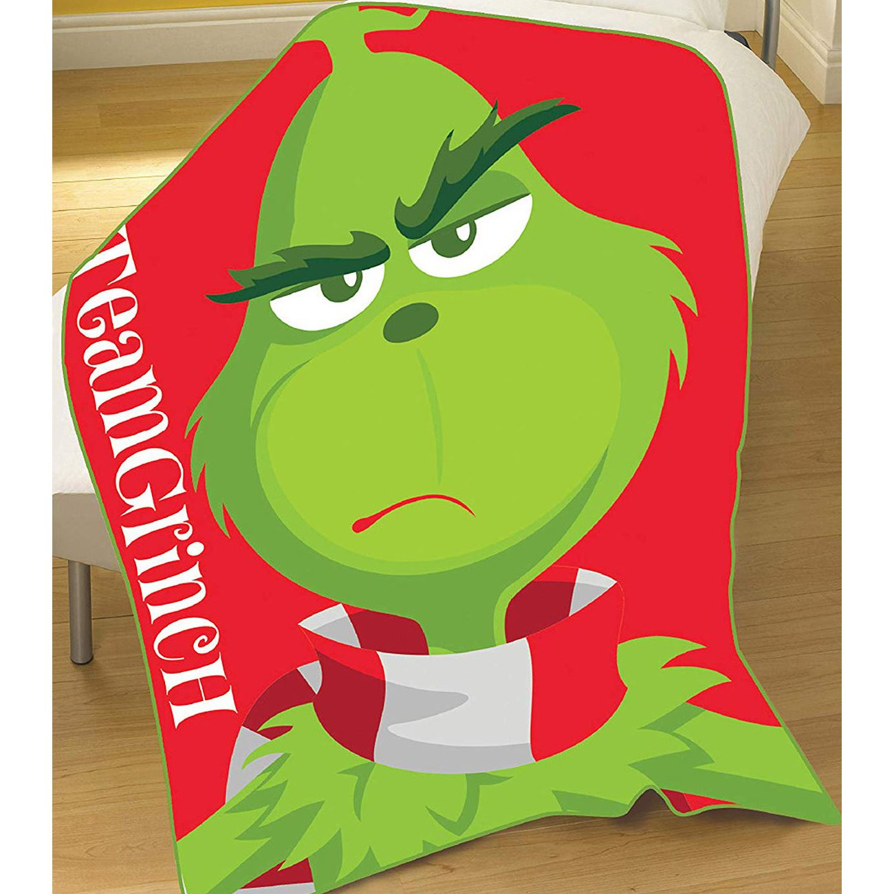The Grinch Movie Christmas Duvet Cover Set Single