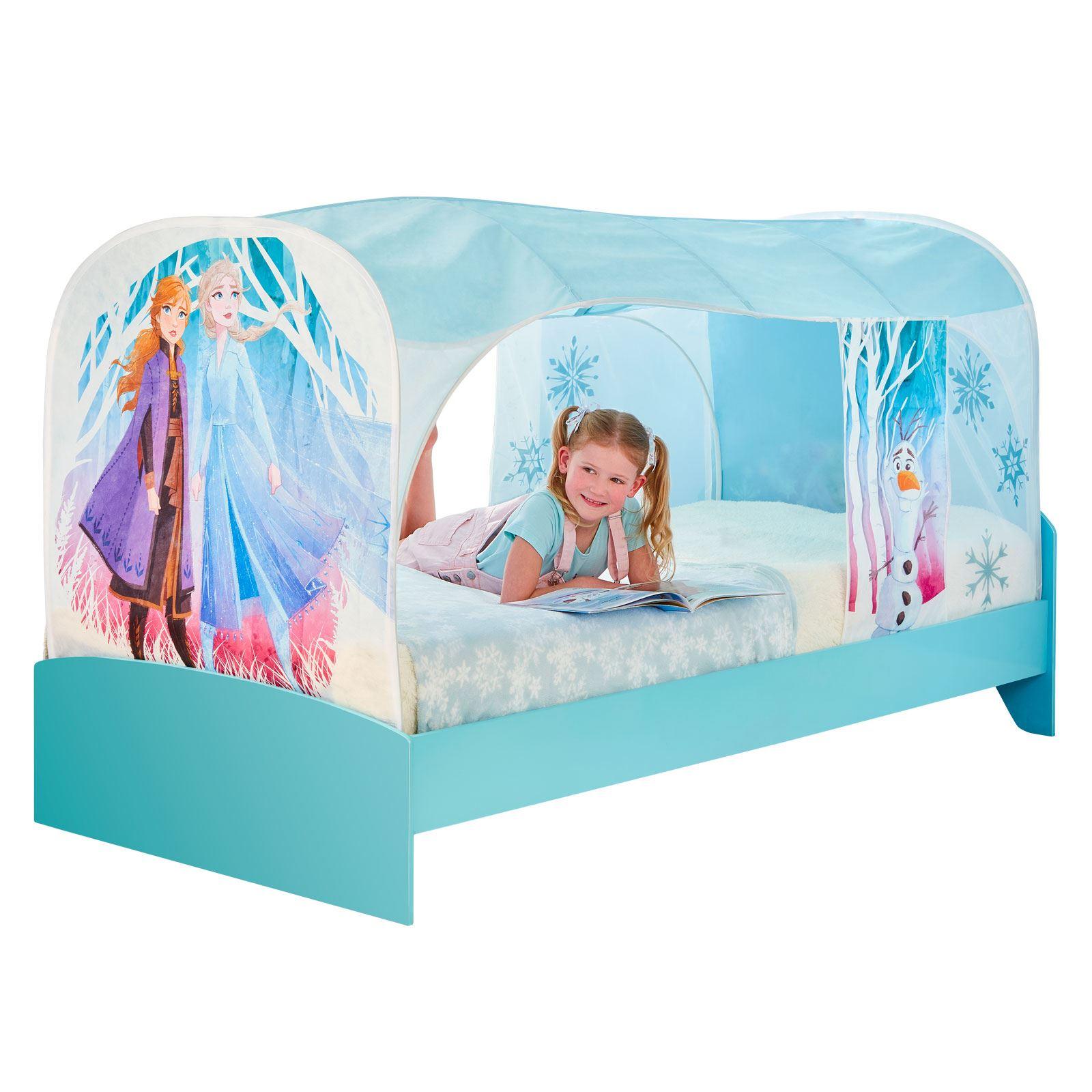Disney Frozen 2 sur lit tente den Filles Coucher