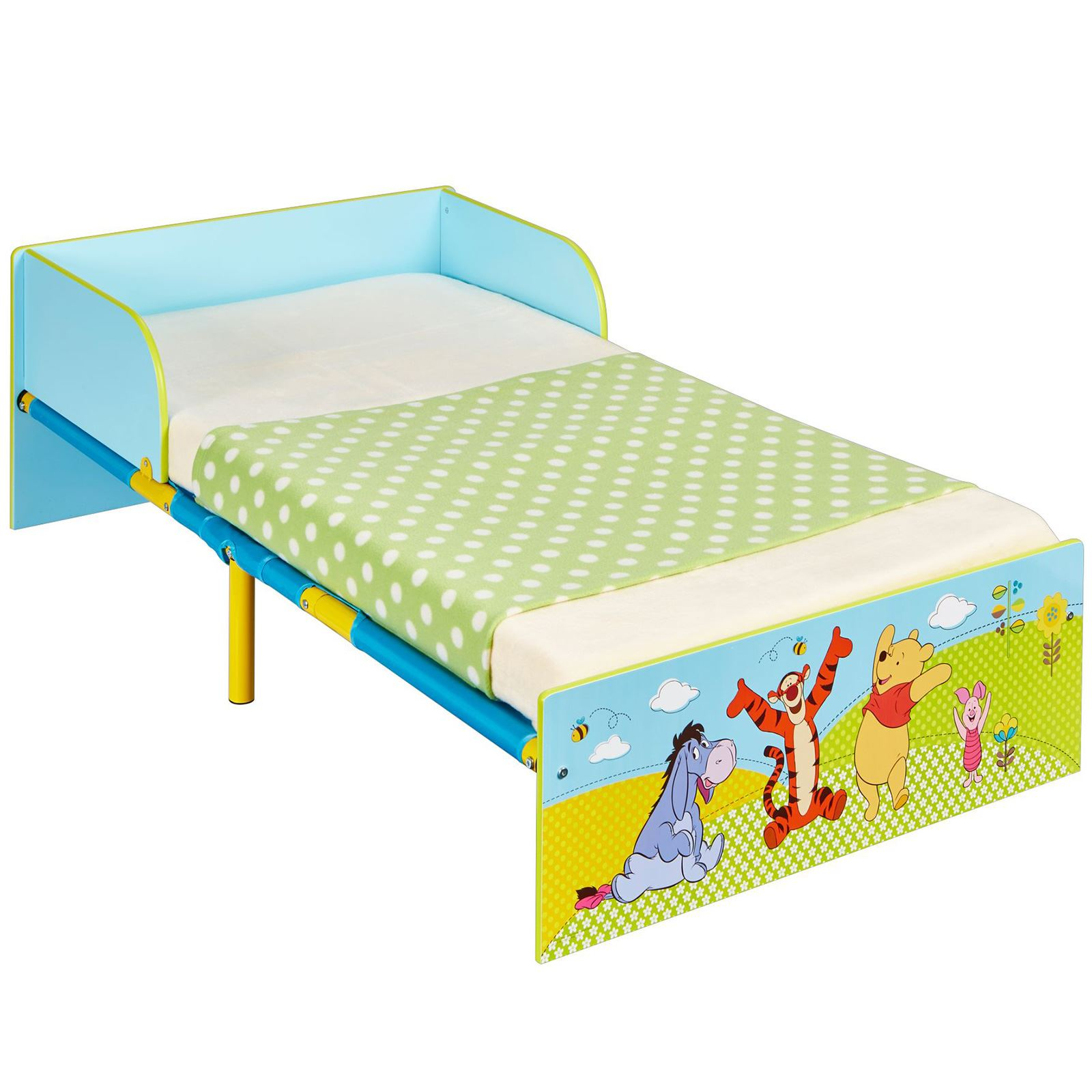 with mattress fully toddler storage skye p patrol sprung plus paw bed
