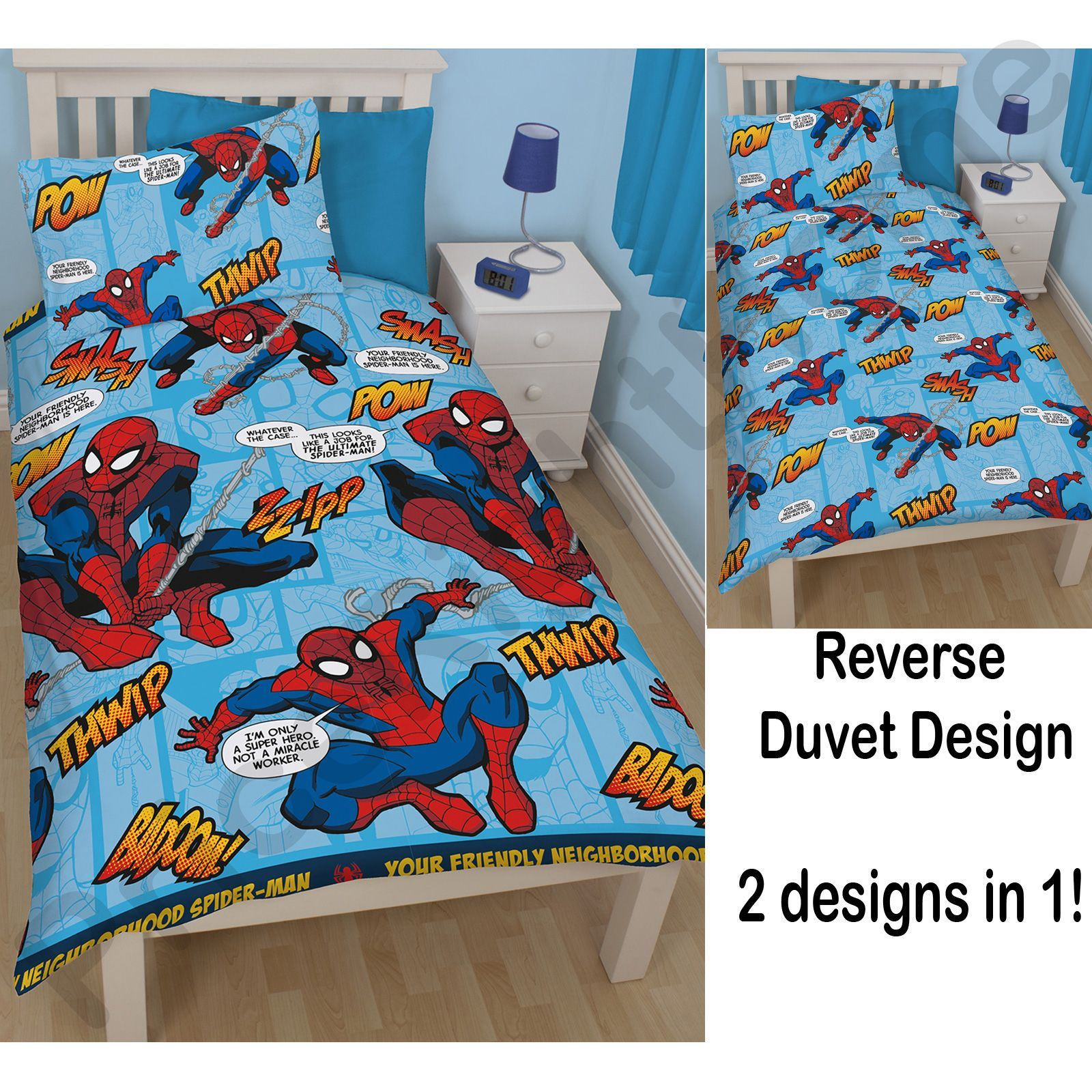 Boy S Quilt Duvet Cover Bedding Sets Single Or Double: Disney And Character Kids Single Duvet Cover Sets Boys