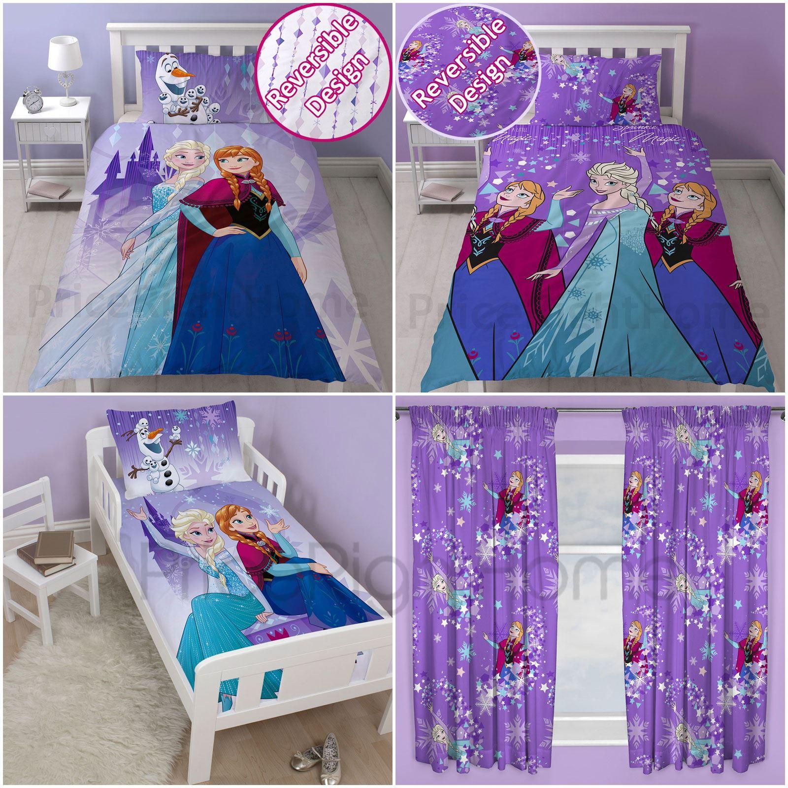 Disney Frozen Snowflake Duvet Cover Sets Single And Junior