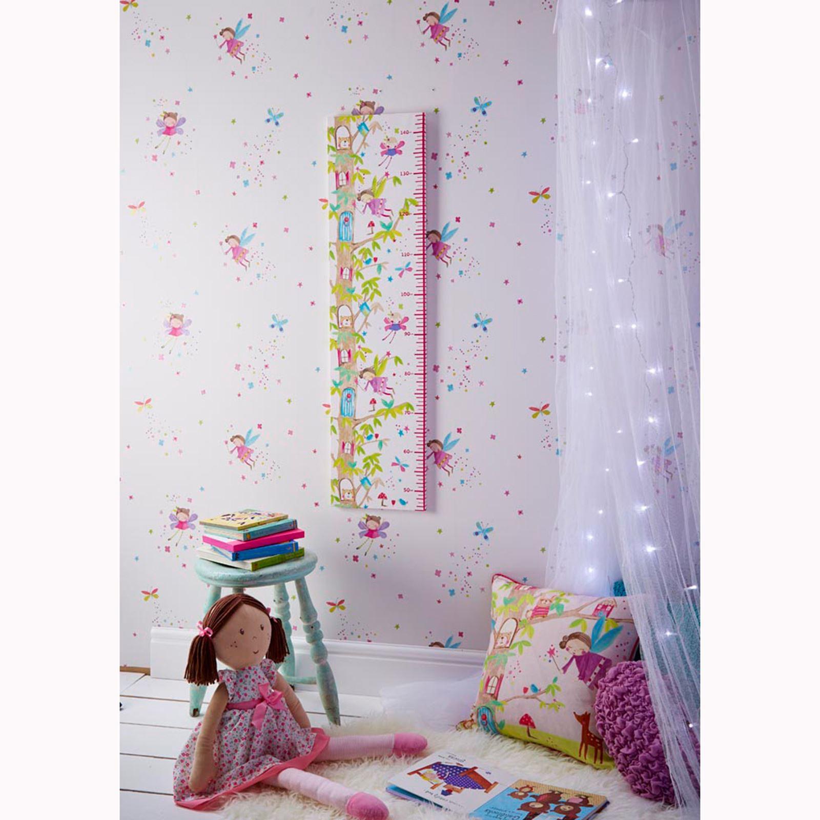 ARTHOUSE-GLITTER-DETAIL-KIDS-WALLPAPER-BEDROOM-UNICORN-MERMAID-SPACE thumbnail 35